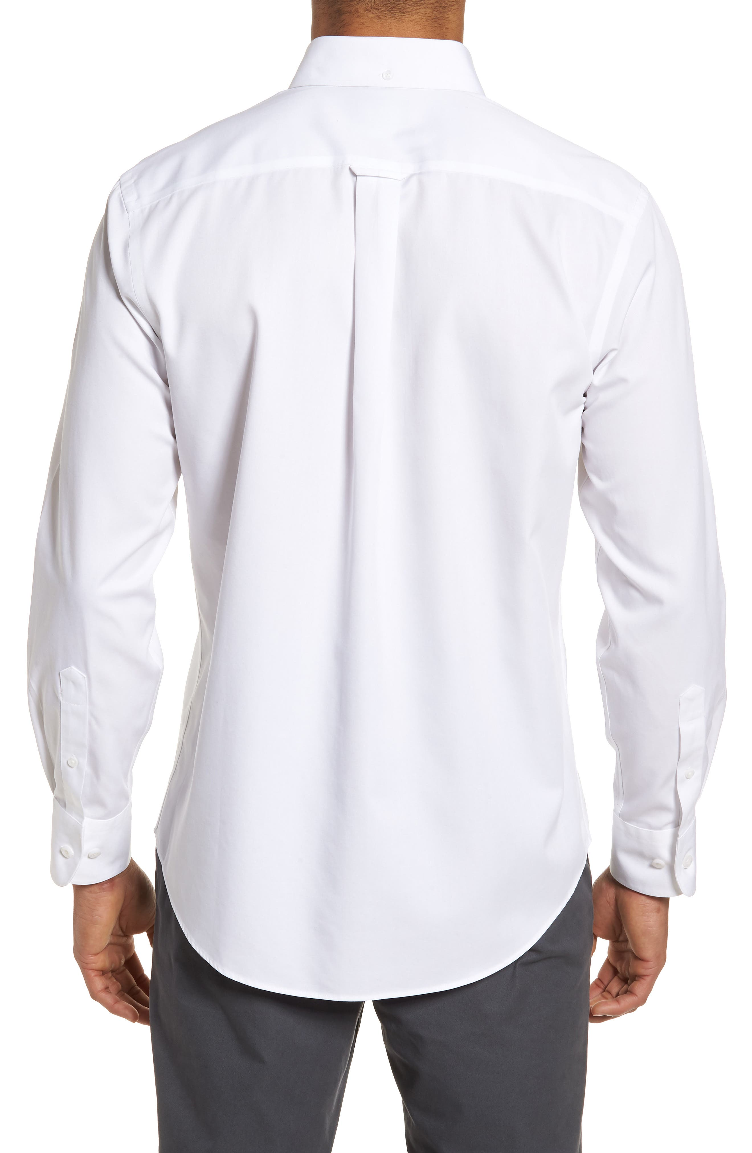 Smartcare<sup>™</sup> Traditional Fit Twill Boat Shirt,                             Alternate thumbnail 83, color,