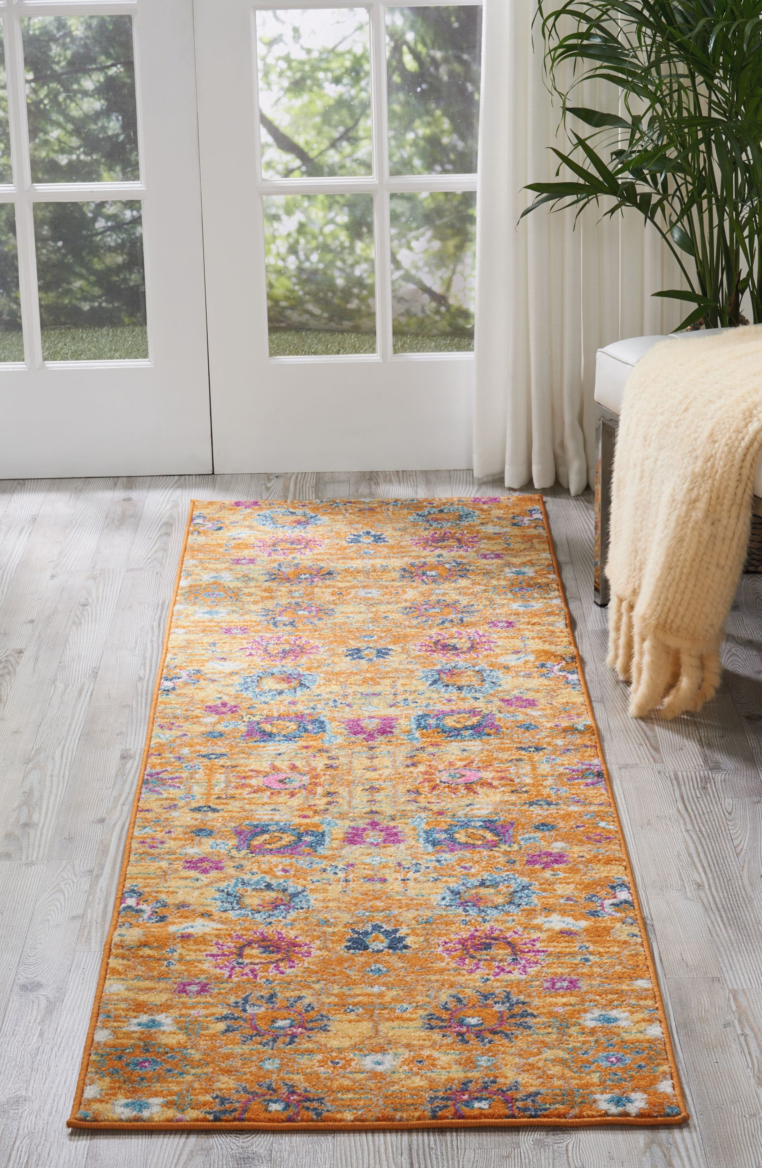 Sunburst Rug,                             Alternate thumbnail 7, color,                             800
