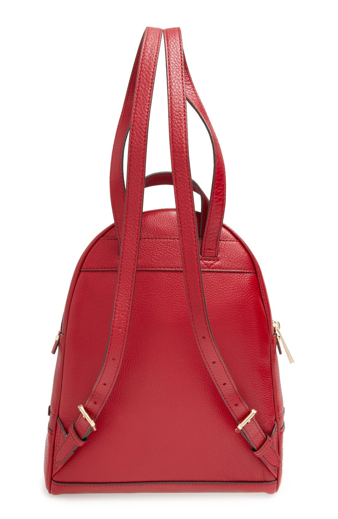 'Extra Small Rhea Zip' Leather Backpack,                             Alternate thumbnail 37, color,
