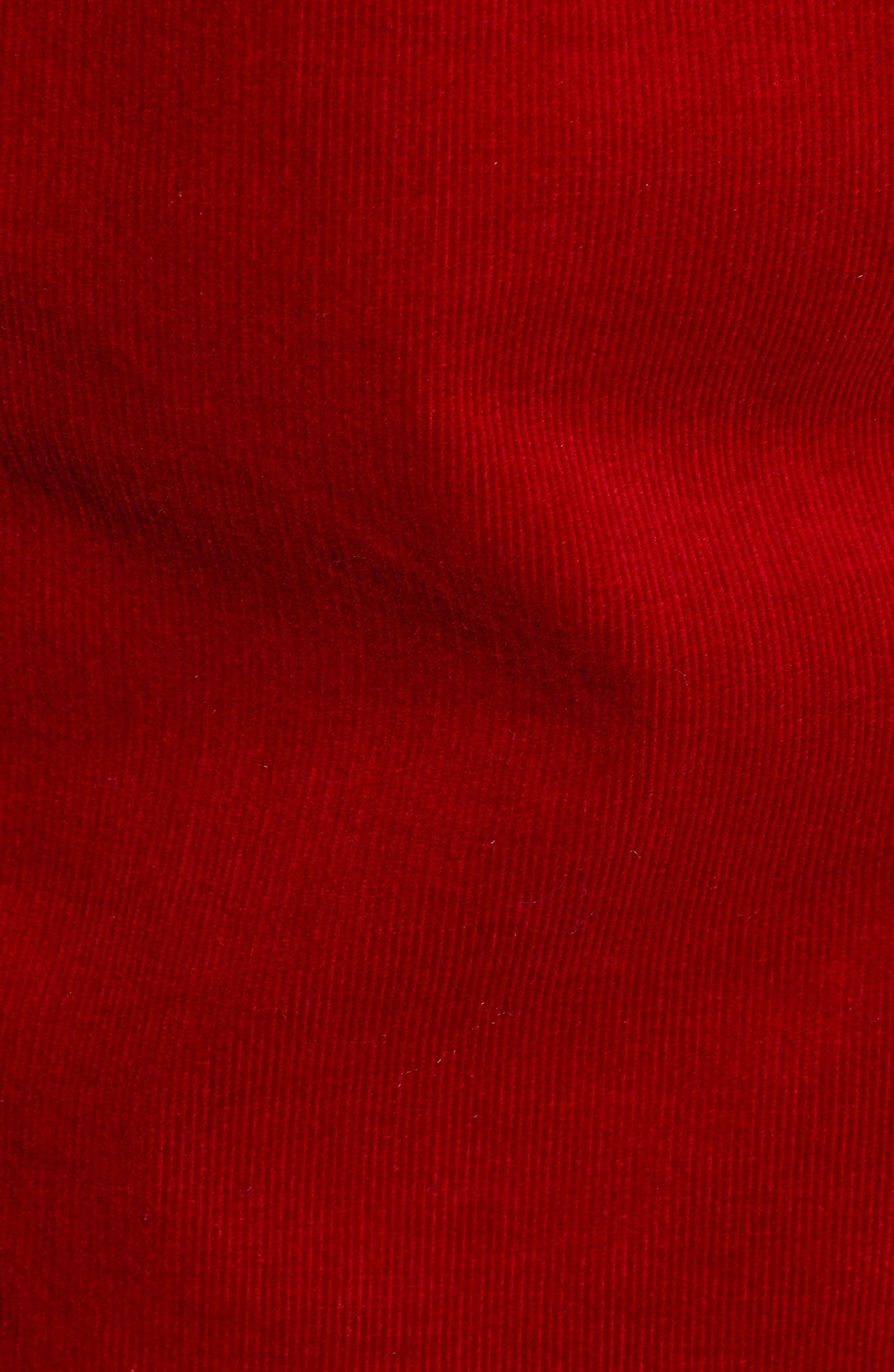 Robyn Corduroy Jacket,                             Alternate thumbnail 7, color,                             RED AMARYLLIS
