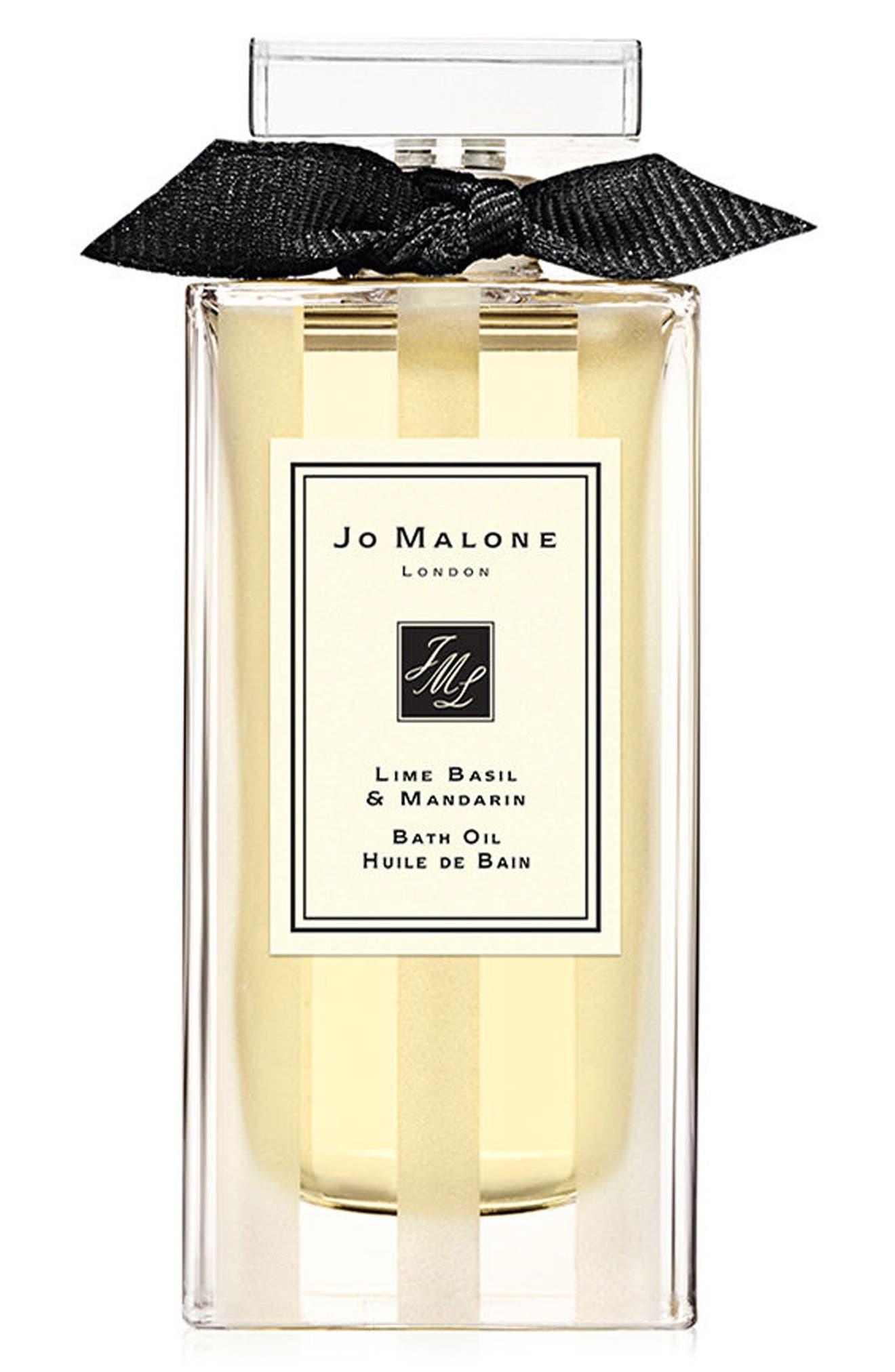 JO MALONE LONDON<SUP>™</SUP>,                             Lime Basil & Mandarin Bath Oil,                             Main thumbnail 1, color,                             000