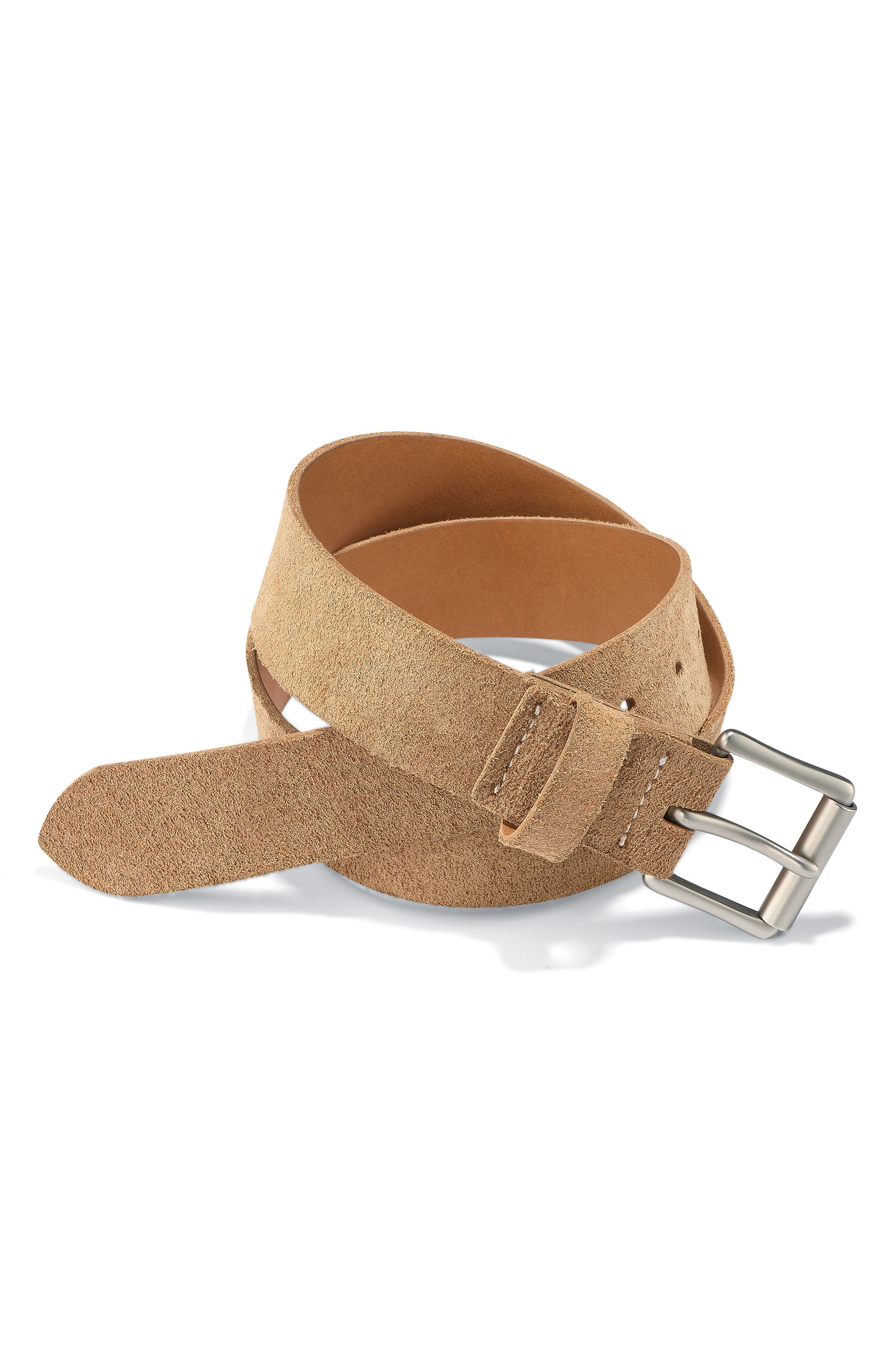 Leather Belt,                         Main,                         color, HAWTHORNE MULESKINNER