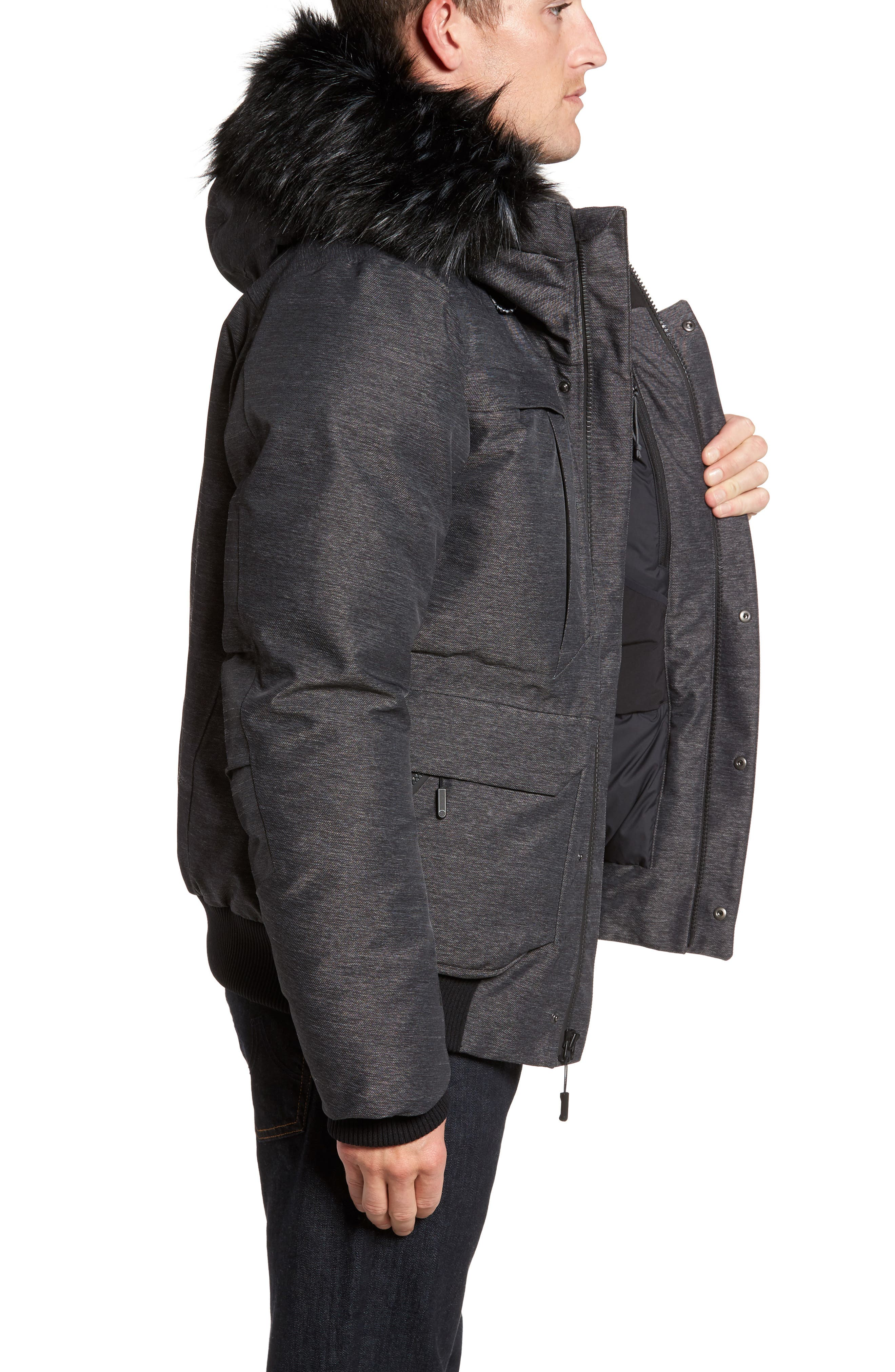 Cryos Expedition Gore-Tex<sup>®</sup> Bomber Jacket,                             Alternate thumbnail 8, color,