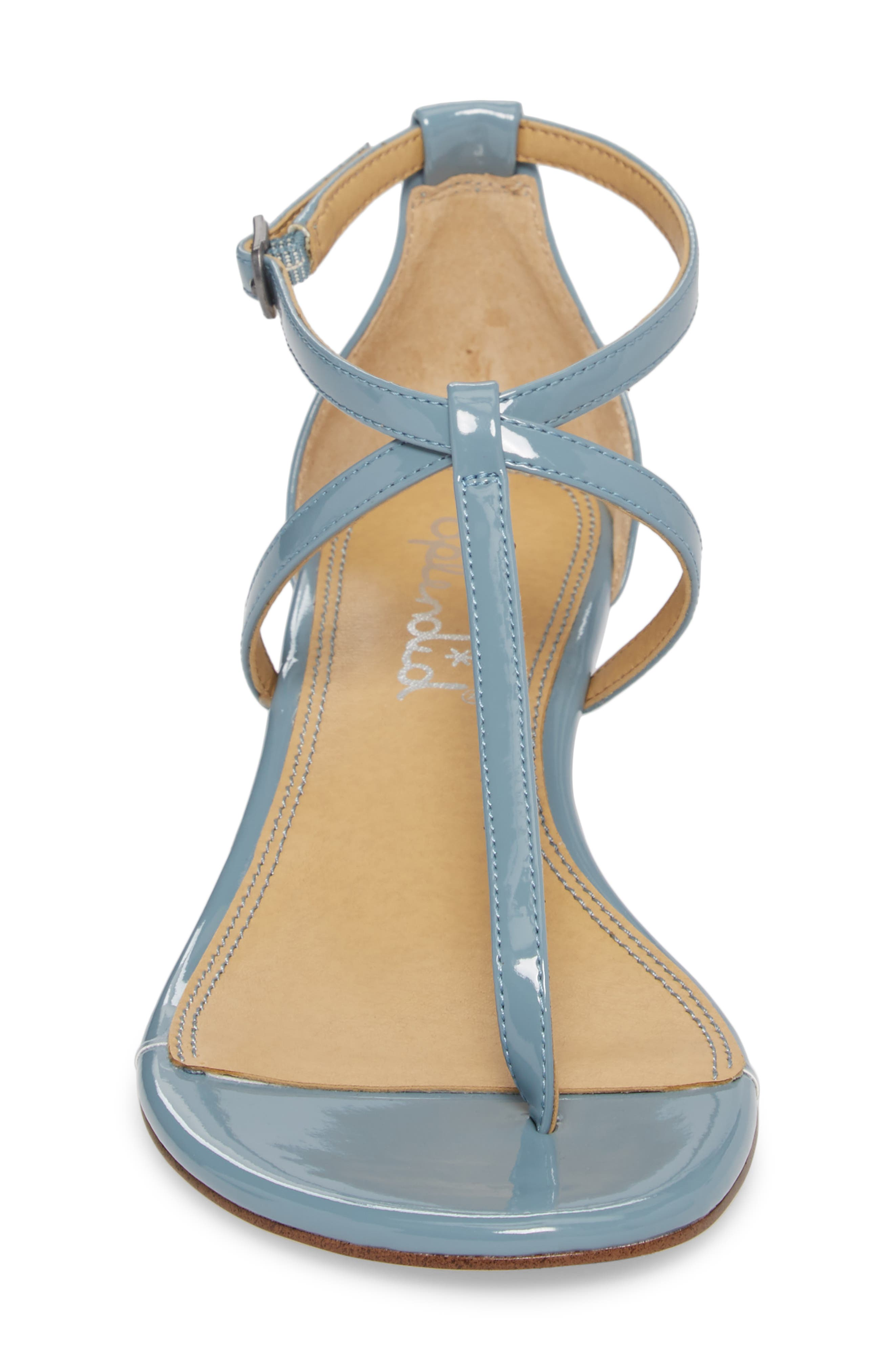 Bryce T-Strap Wedge Sandal,                             Alternate thumbnail 22, color,