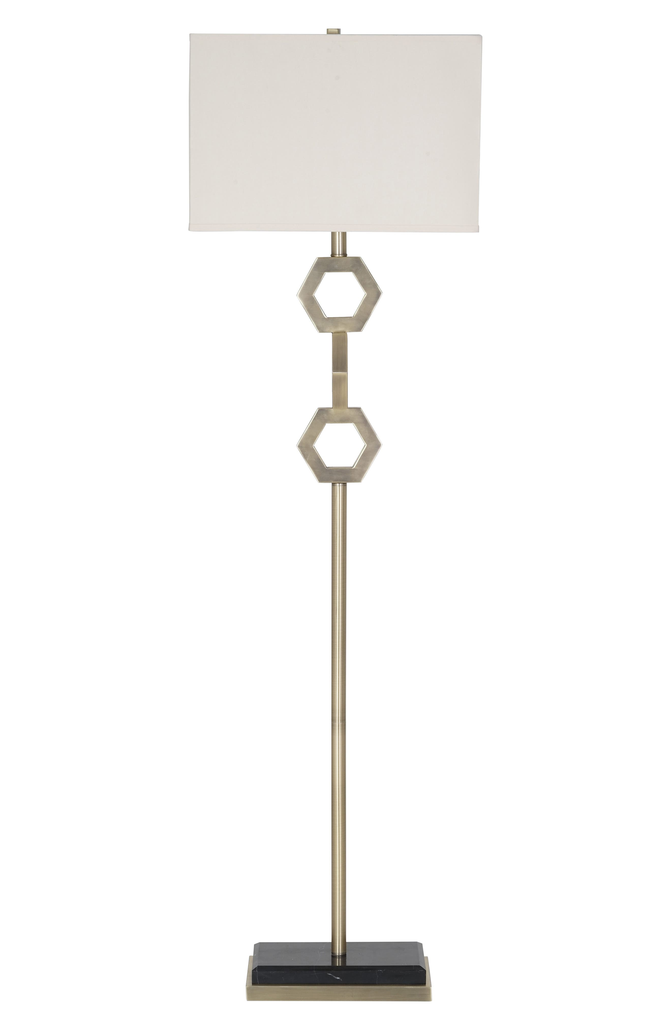 Jalexander Lighting Kenzie Floor Lamp Size One Size  Metallic