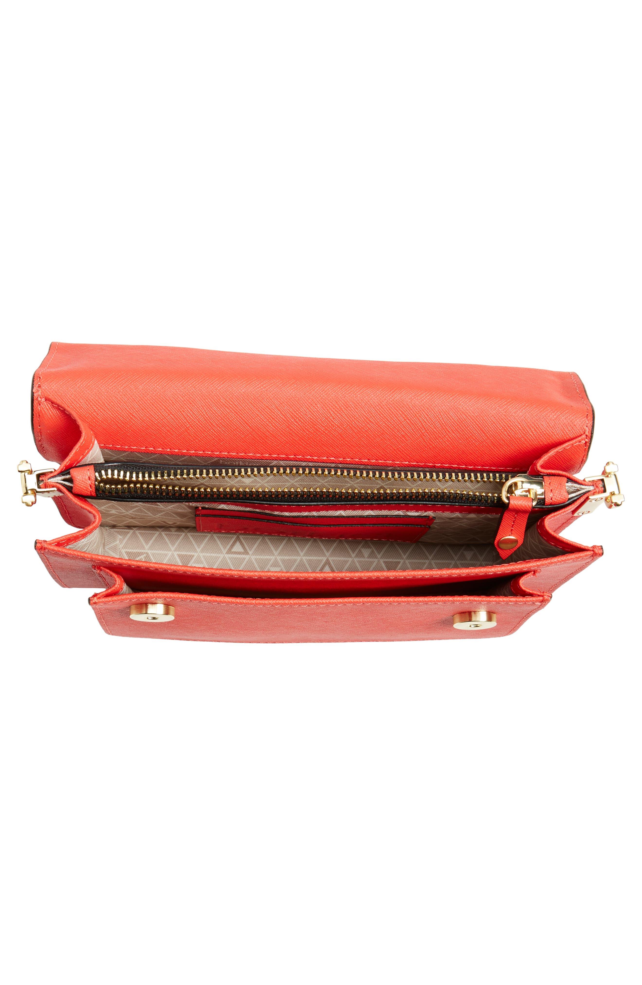 Cobble Hill Leather Crossbody Bag,                             Alternate thumbnail 110, color,
