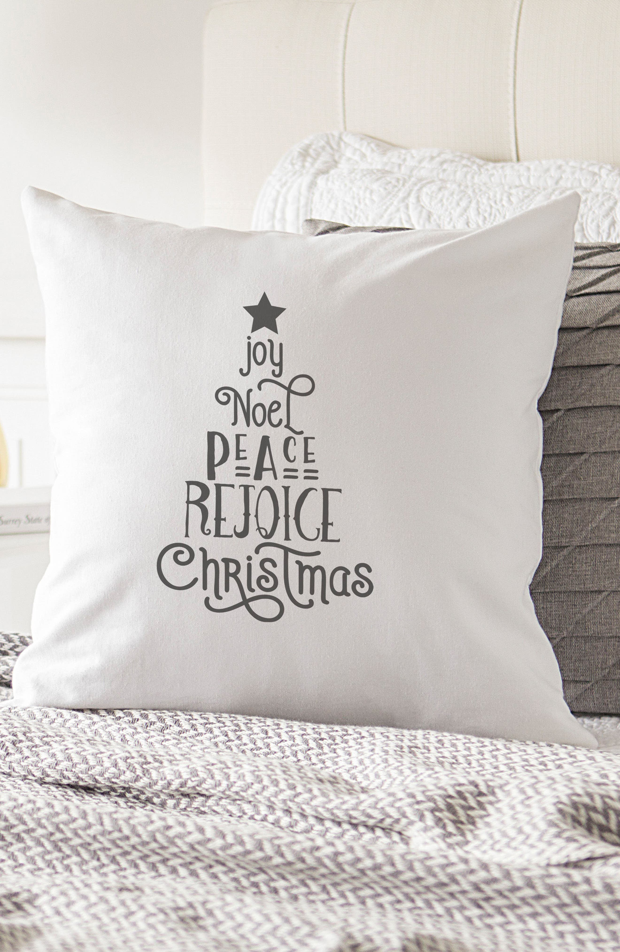 Christmas Tree Accent Pillow,                             Alternate thumbnail 5, color,                             020