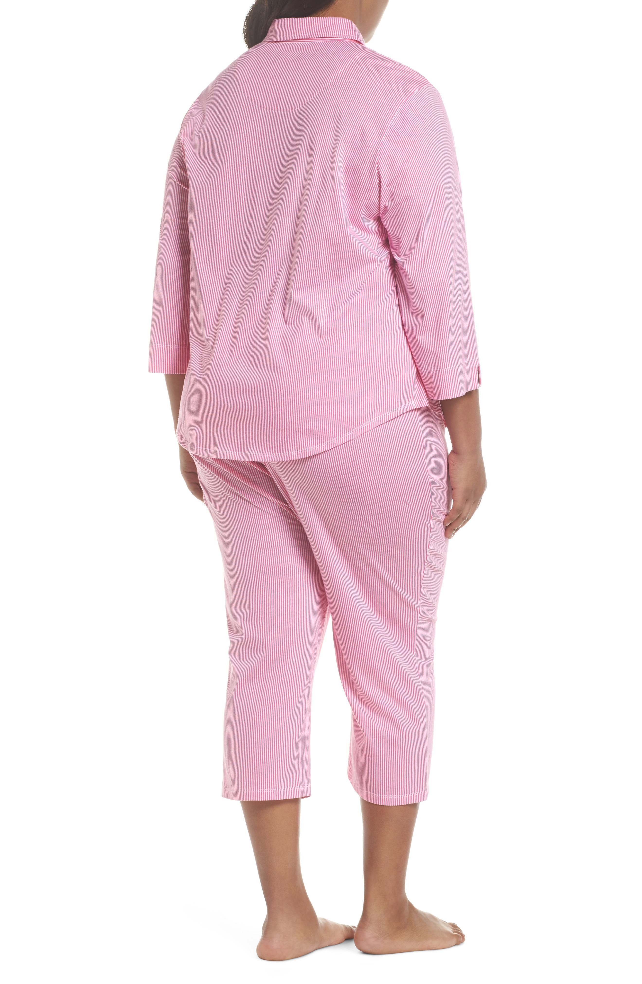 Crop Pajamas,                             Alternate thumbnail 2, color,