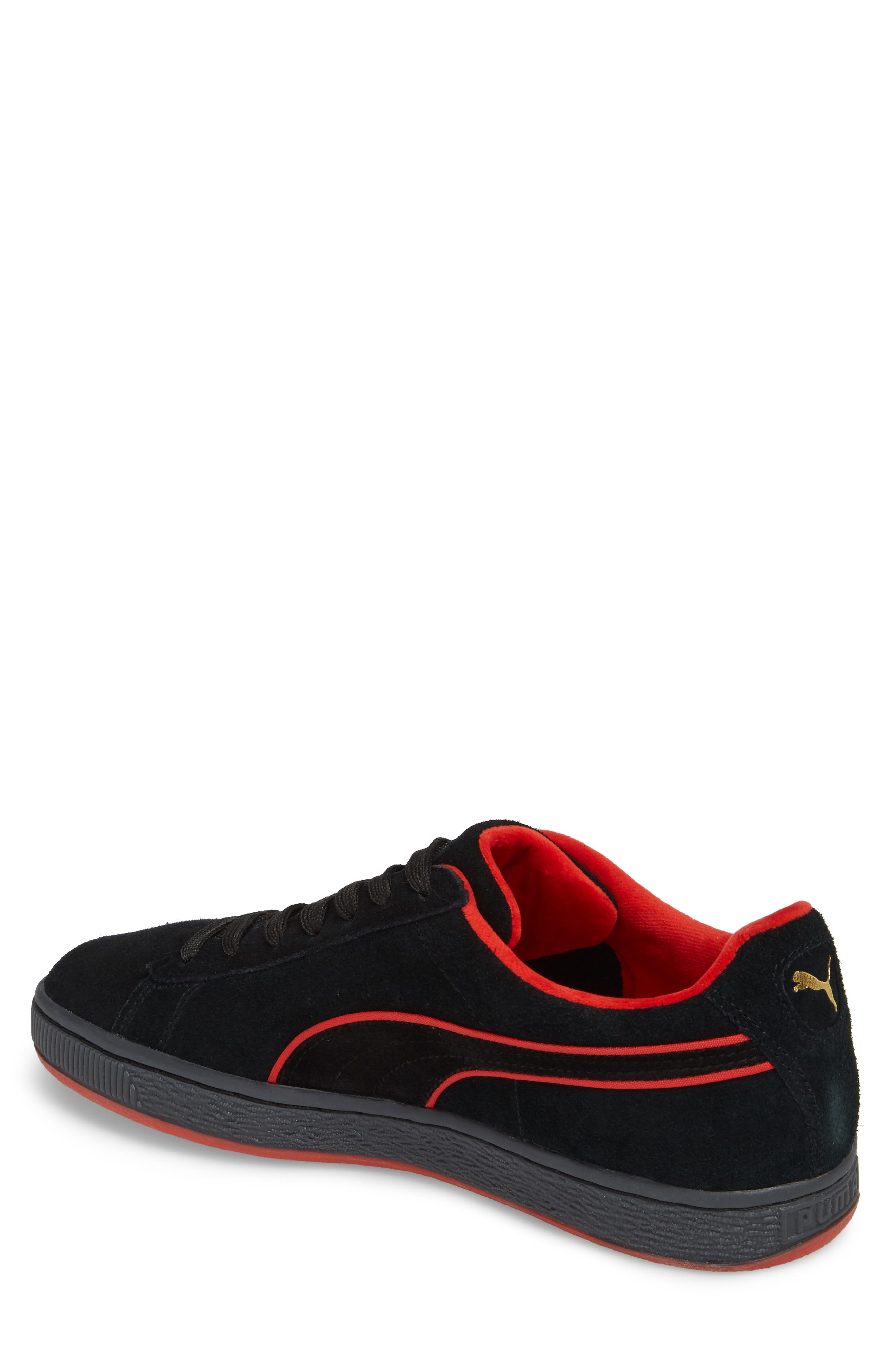 x FUBU Suede Classic Sneaker,                             Alternate thumbnail 2, color,