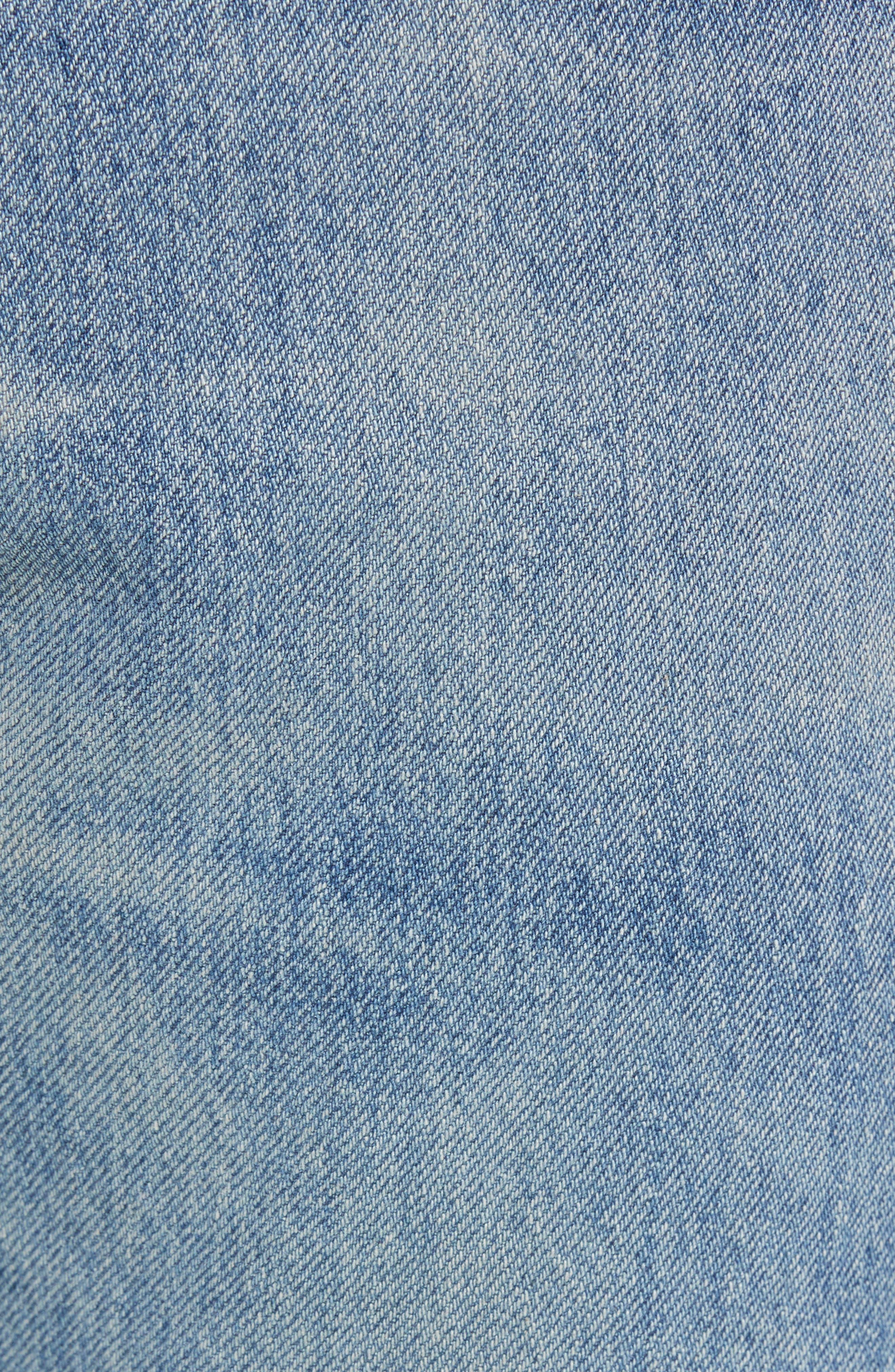 501<sup>™</sup> Slim Fit Jeans,                             Alternate thumbnail 5, color,                             SINGLE PAYER WARP