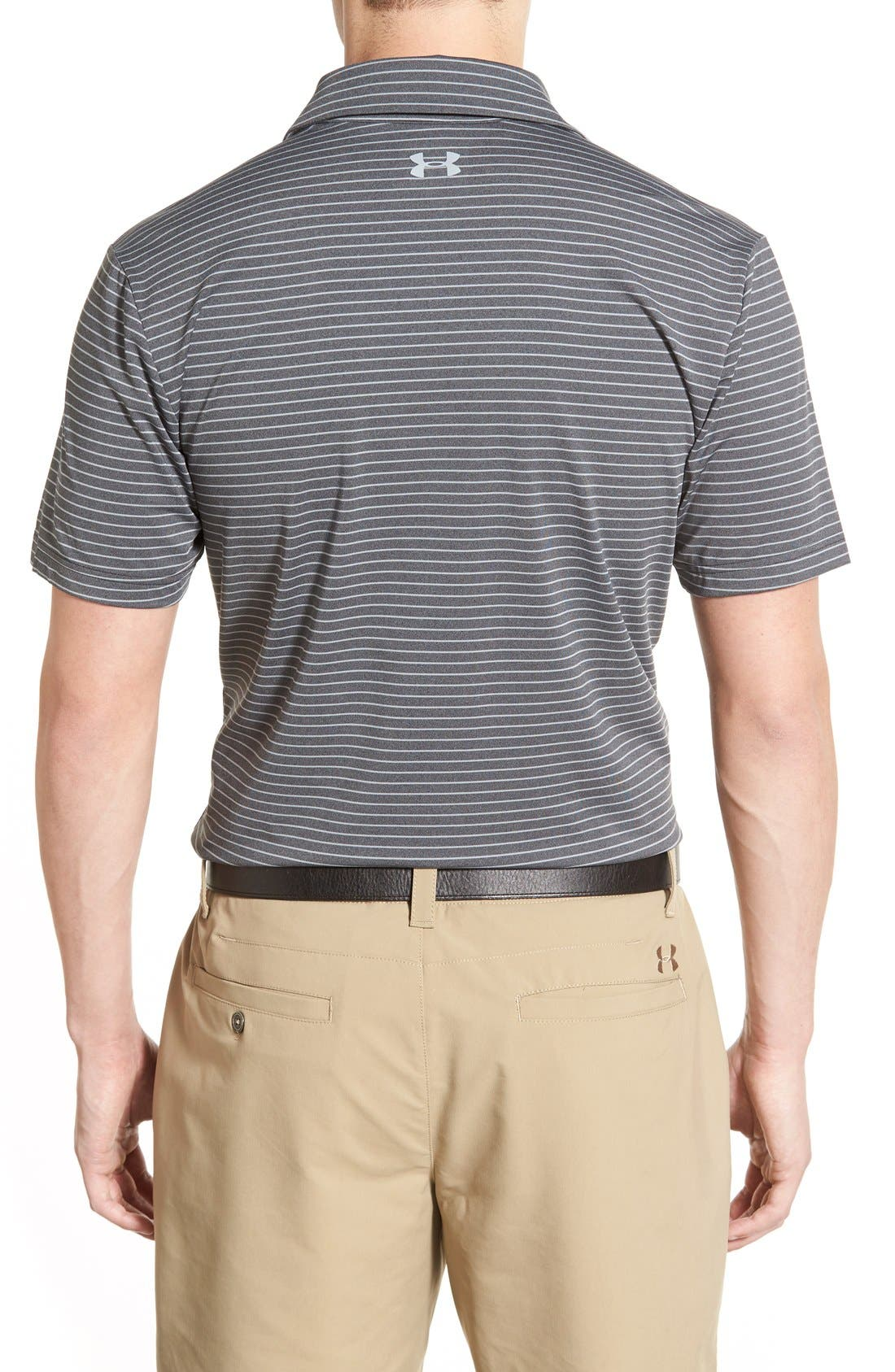 'Playoff' Loose Fit Short Sleeve Polo,                             Alternate thumbnail 185, color,