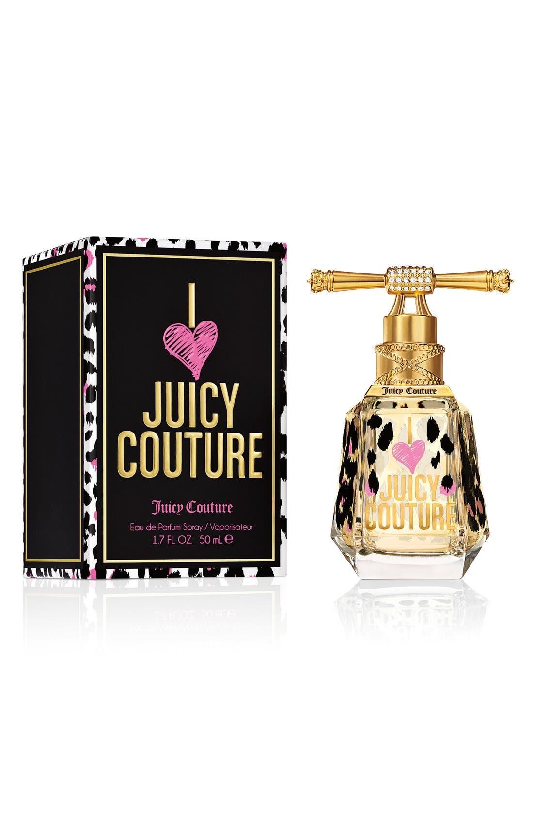 'I Love Juicy Couture' Eau de Parfum Spray,                             Alternate thumbnail 3, color,                             000