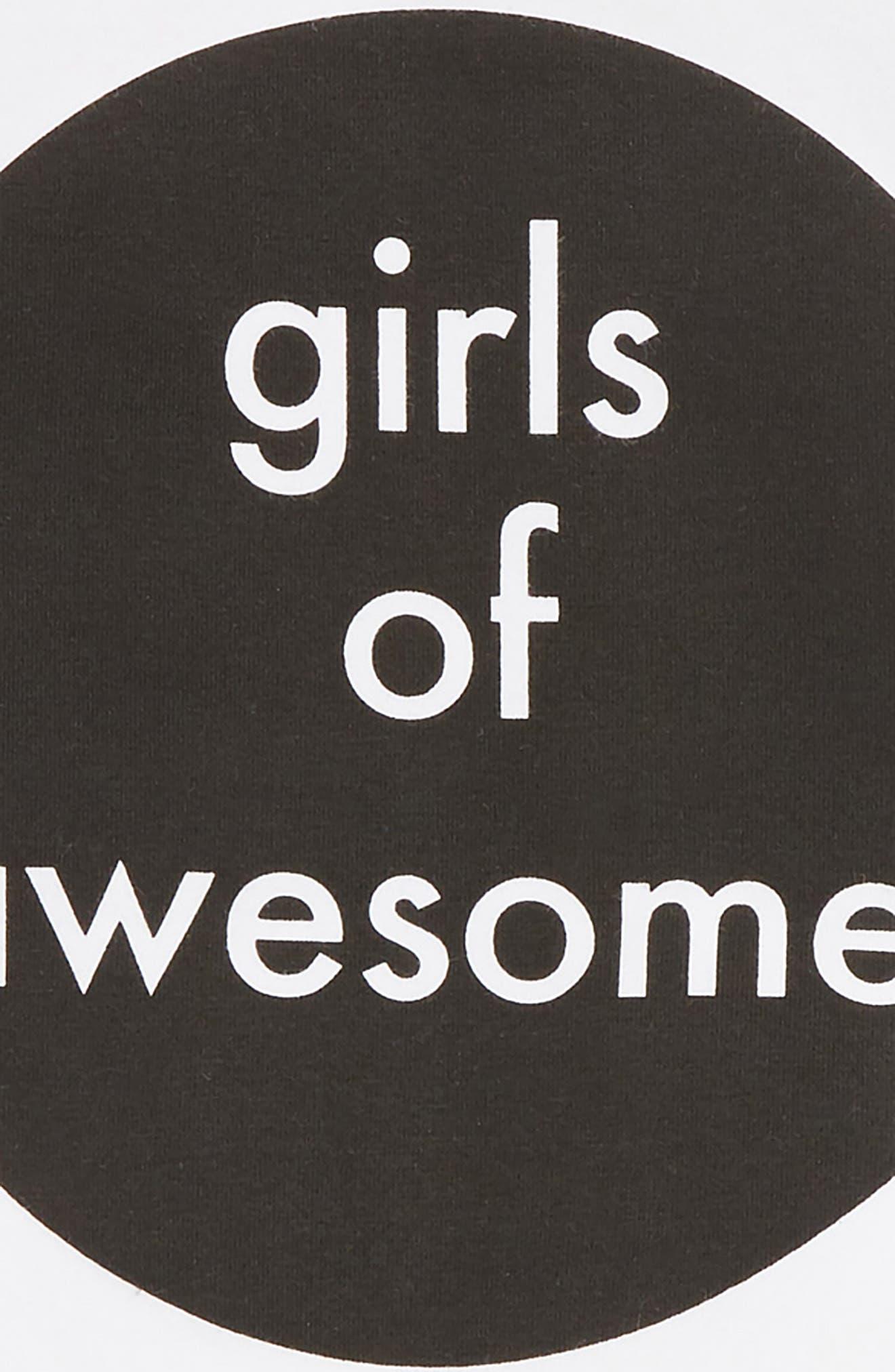 Girls of Awesome Tee & Skirt Set,                             Alternate thumbnail 2, color,                             109