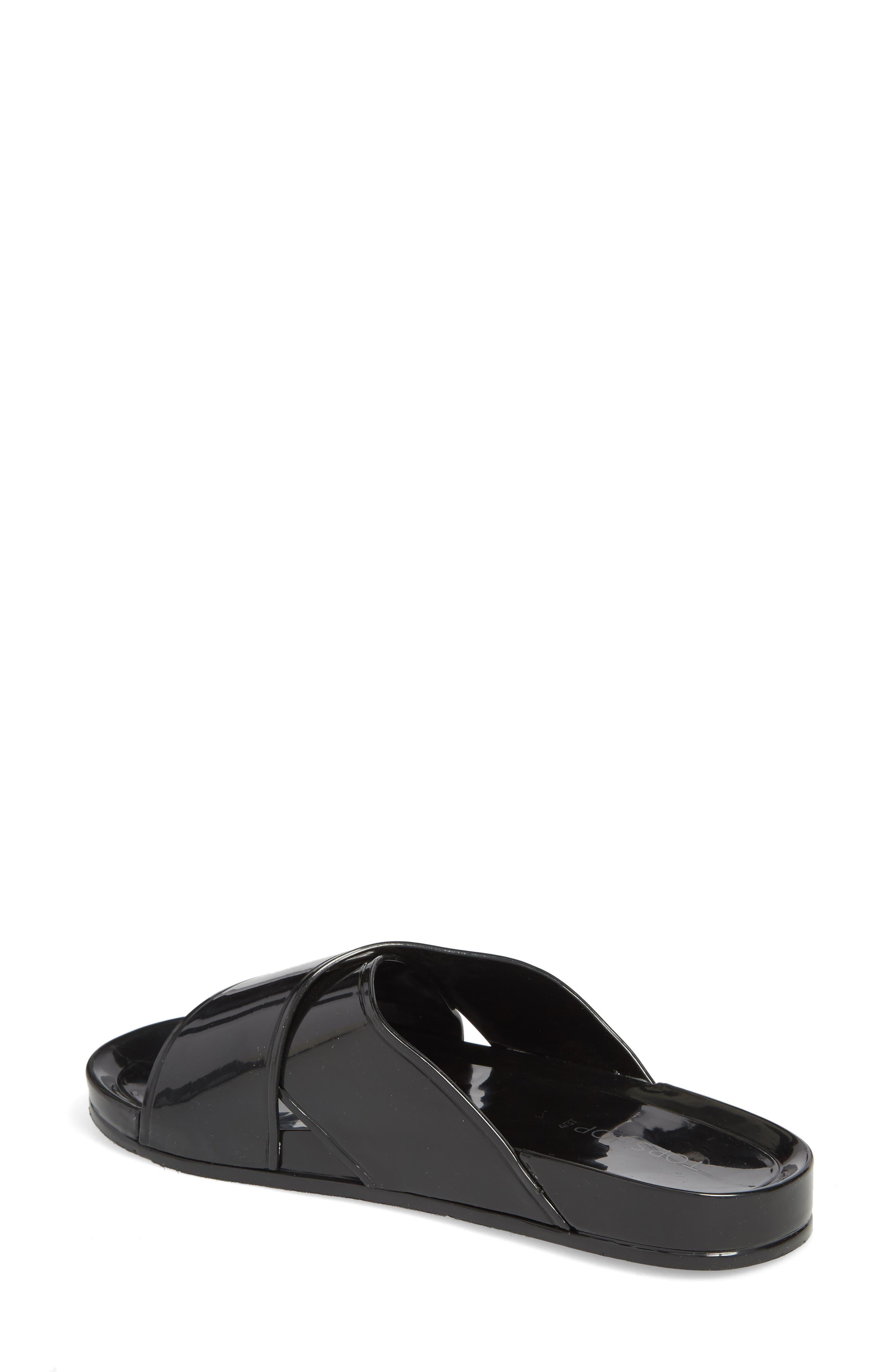 Roxy Jelly Slide Sandal,                             Alternate thumbnail 2, color,                             001