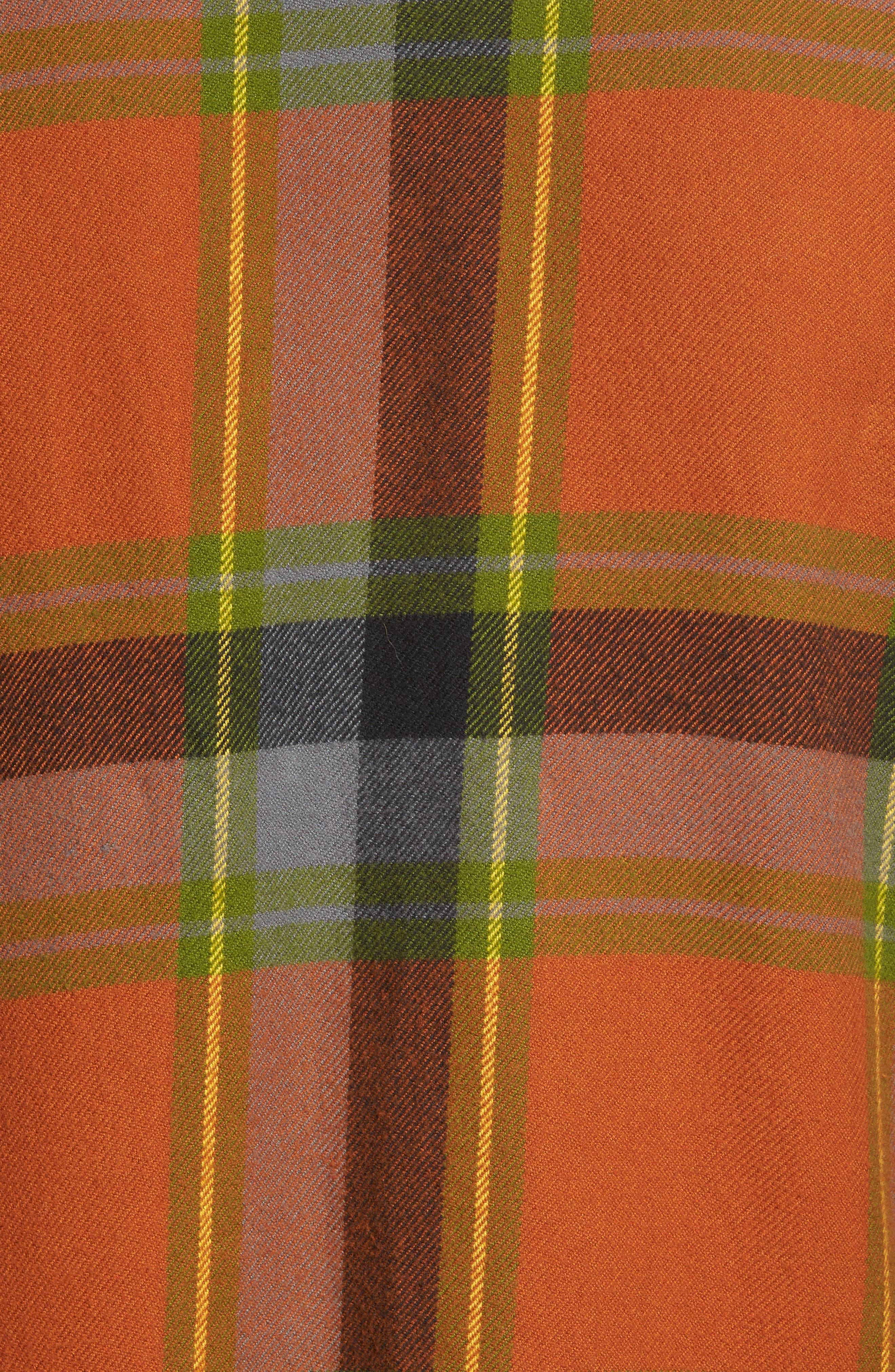 Denim Regular Fit Check Sport Shirt,                             Alternate thumbnail 5, color,                             840