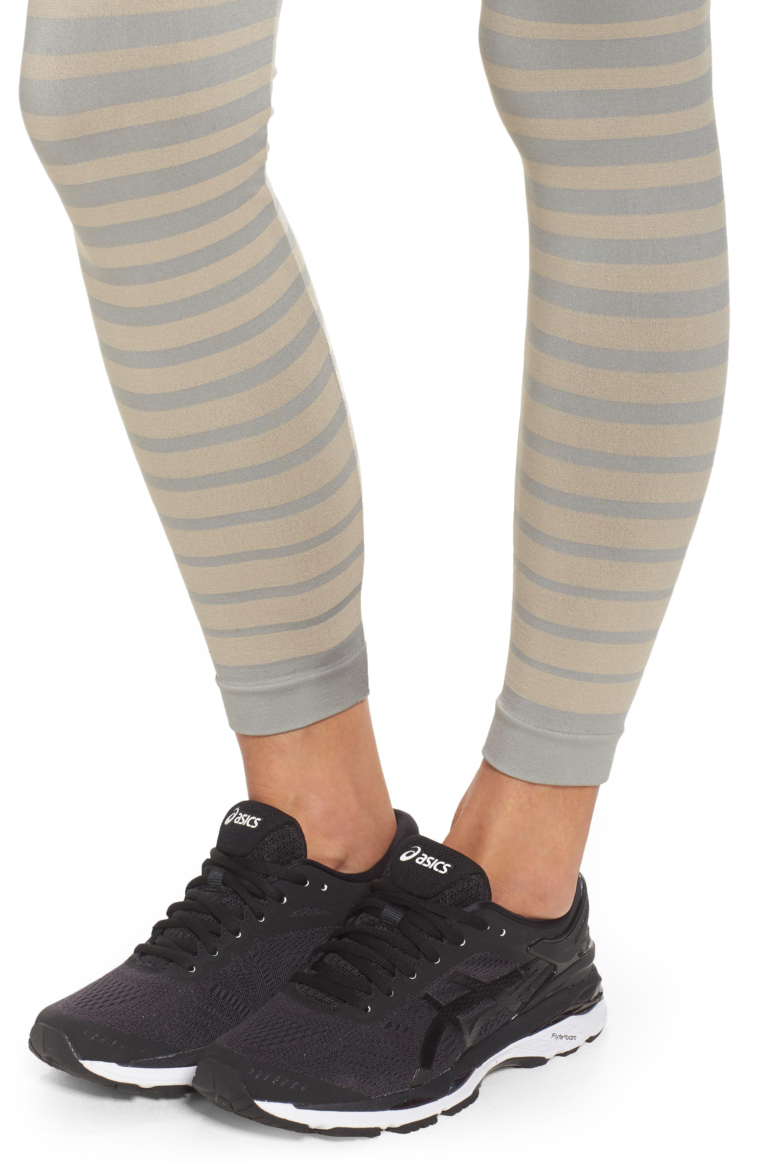 Front Runner High Waist Leggings,                             Alternate thumbnail 4, color,                             020