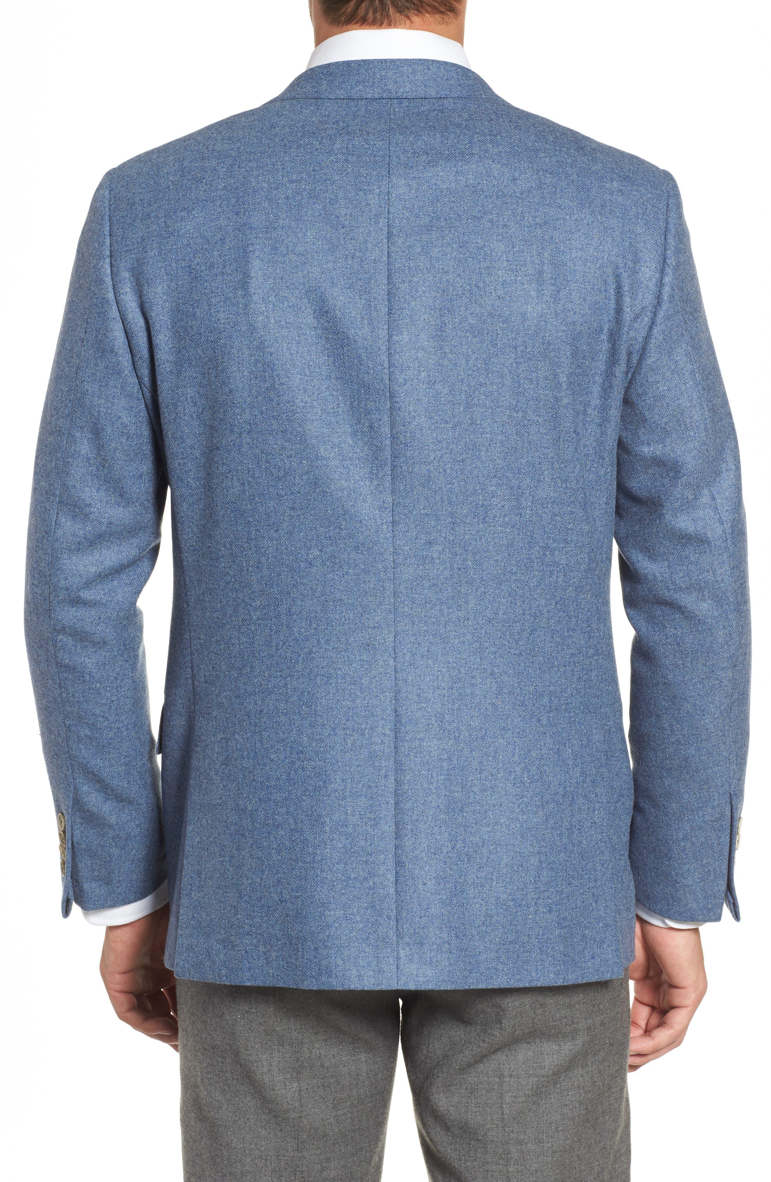 Beacon Classic Fit Wool & Cashmere Blazer,                             Alternate thumbnail 2, color,                             450