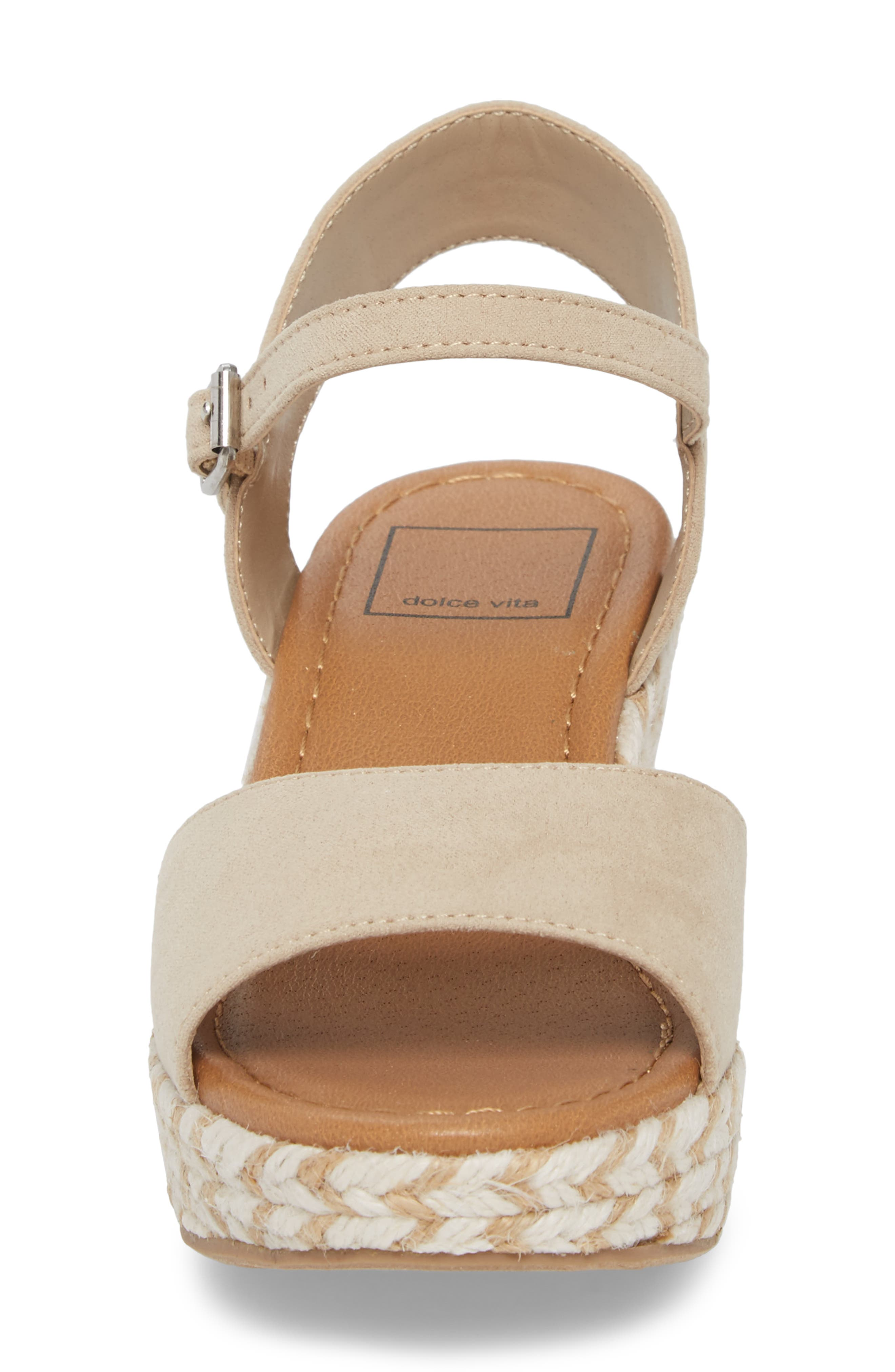 Wendy Espadrille Wedge Sandal,                             Alternate thumbnail 4, color,                             277