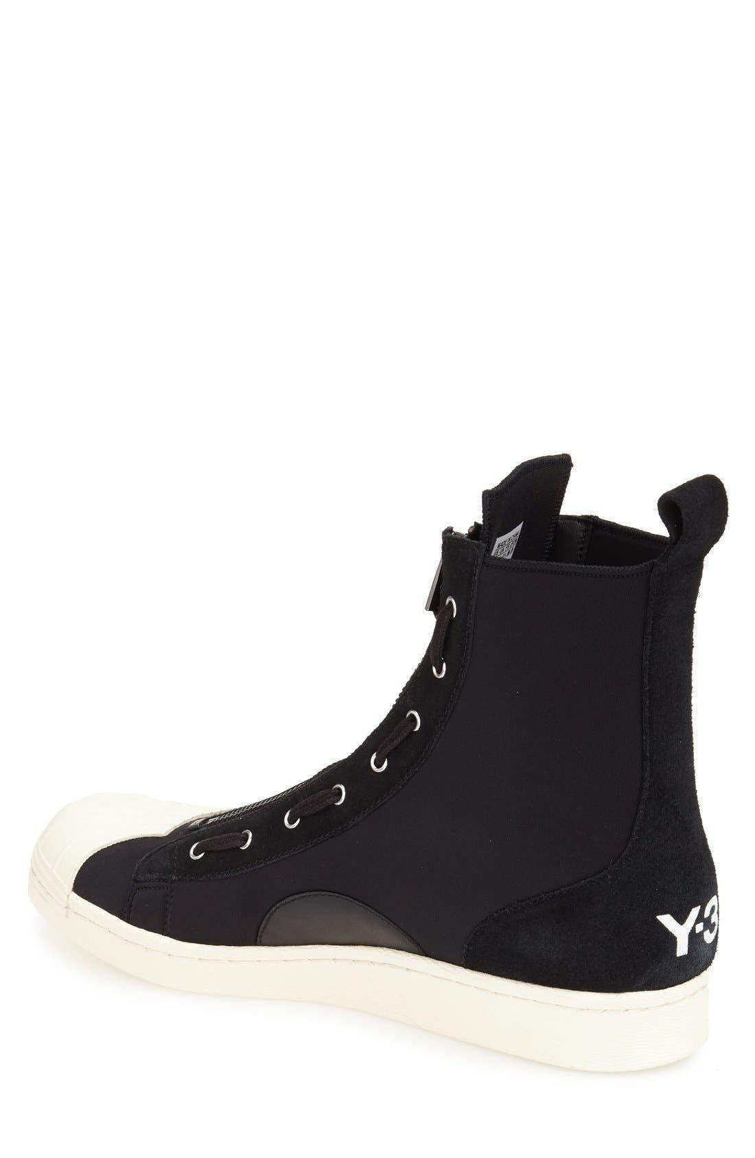 'Pro' High Top Sneaker,                             Alternate thumbnail 2, color,                             002