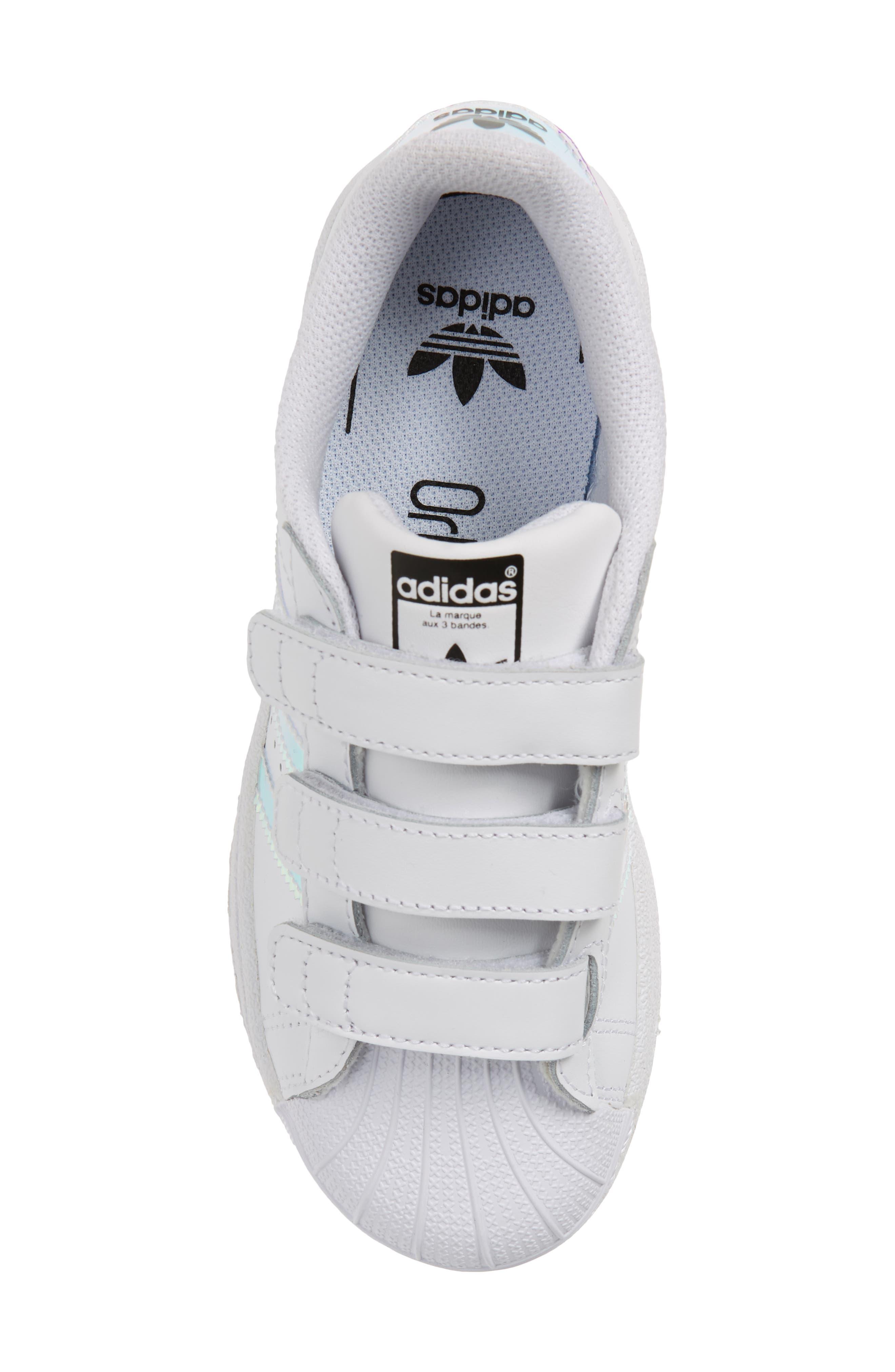 Superstar - Iridescent Sneaker,                             Alternate thumbnail 5, color,                             100