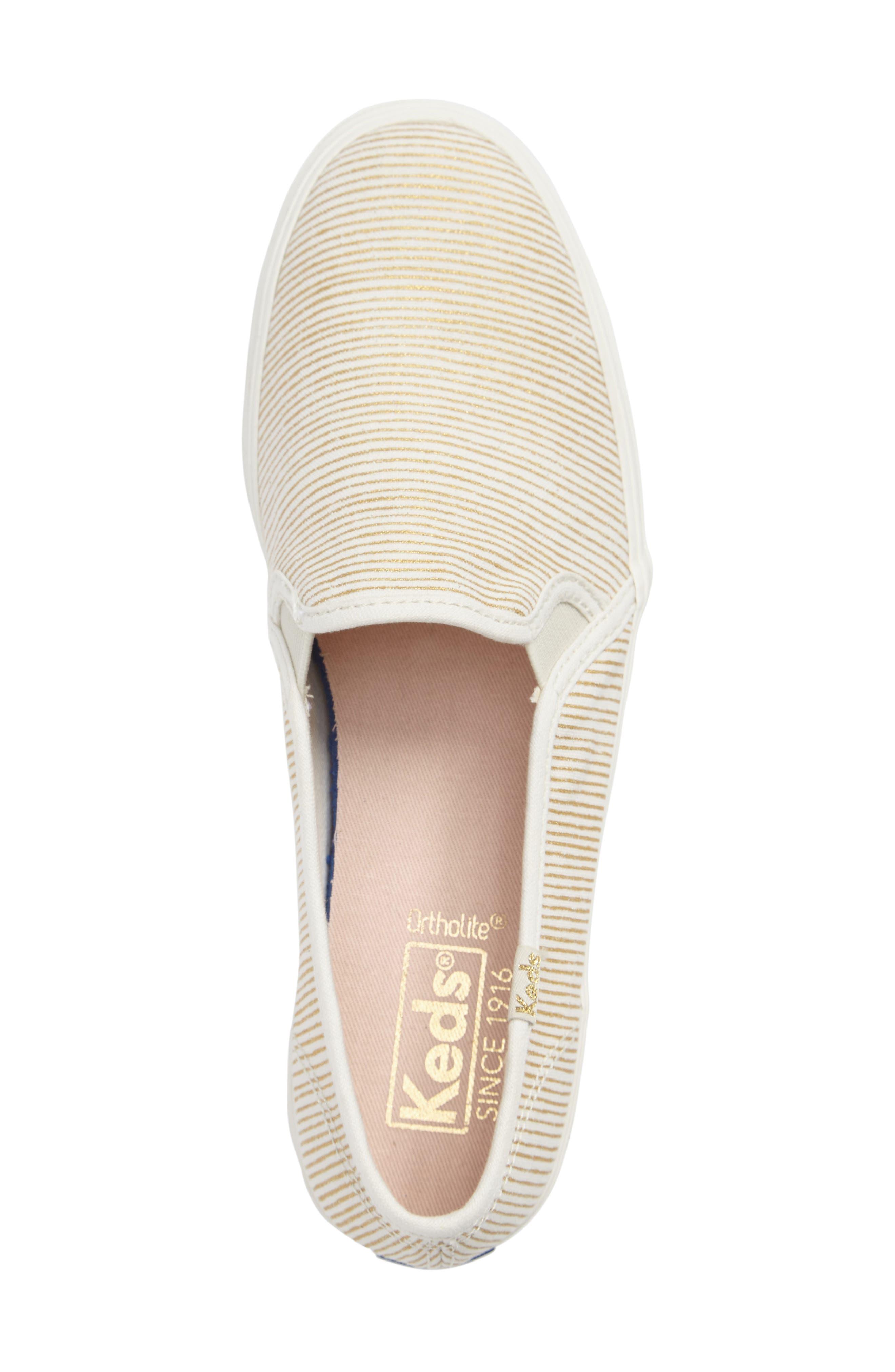 Triple Decker Slip-On Platform Sneaker,                             Alternate thumbnail 24, color,