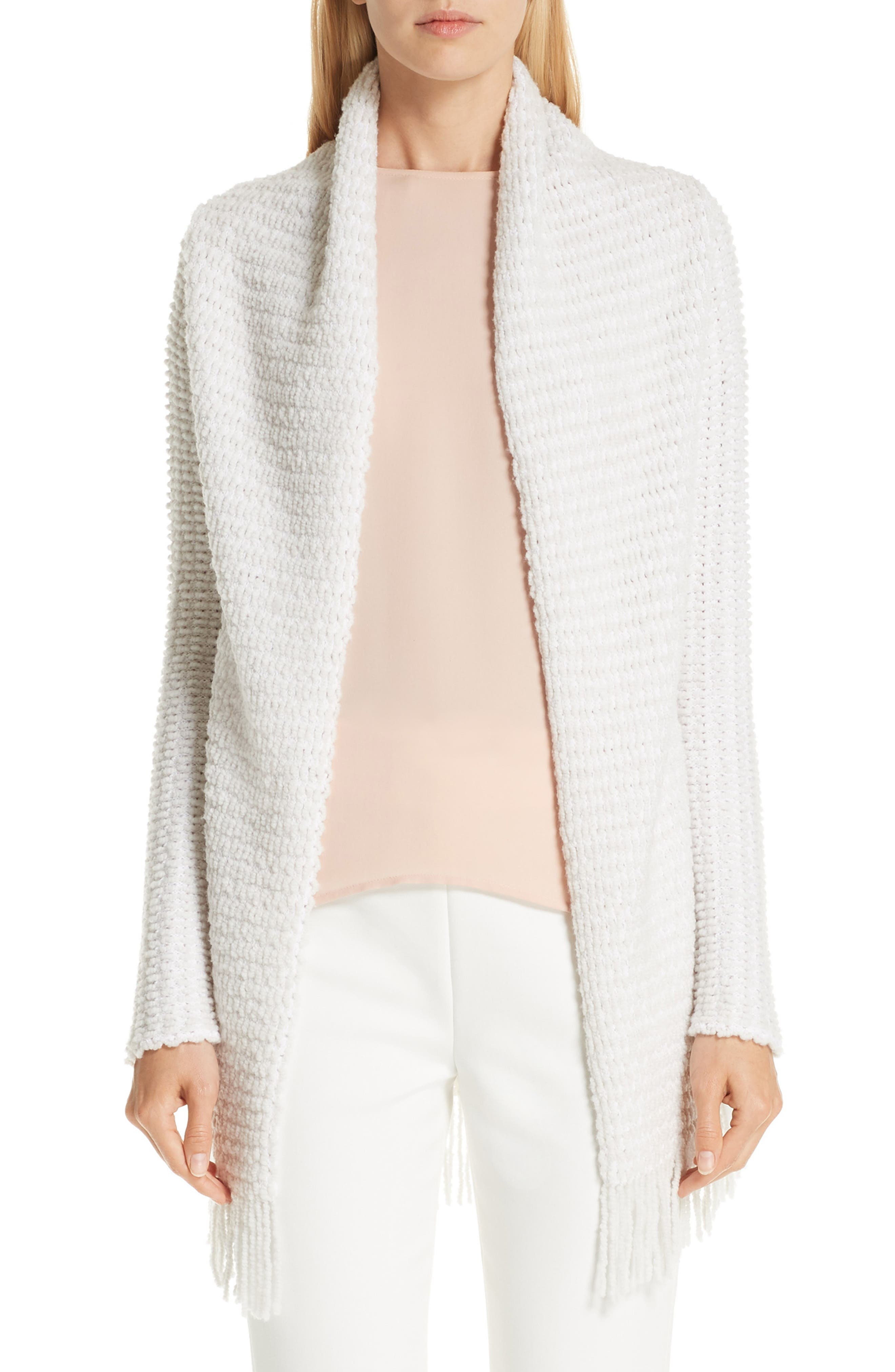 Textural Inlay Knit Cardigan, Main, color, 250