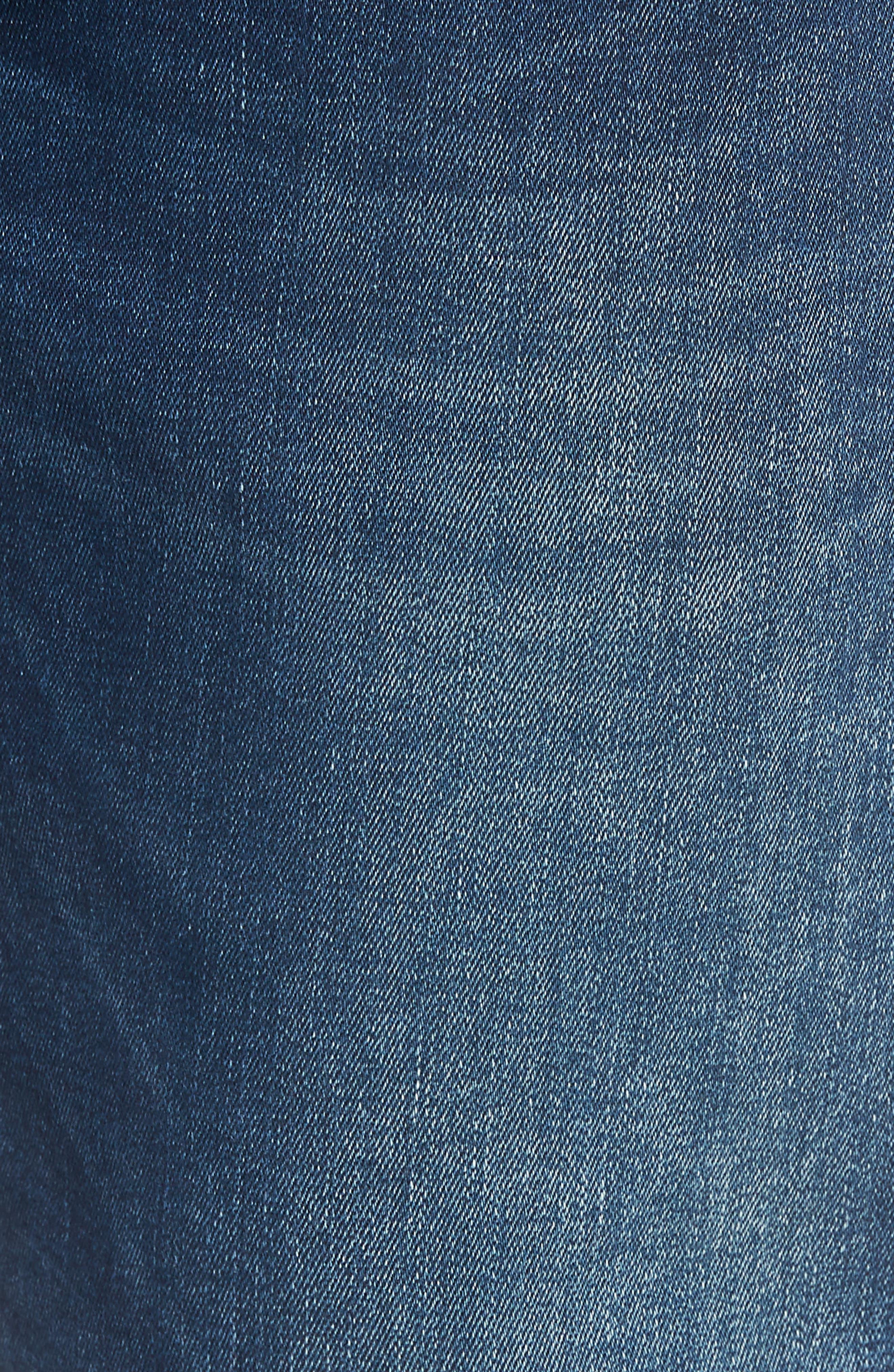 Marcus Slim Straight Leg Jeans,                             Alternate thumbnail 5, color,                             401