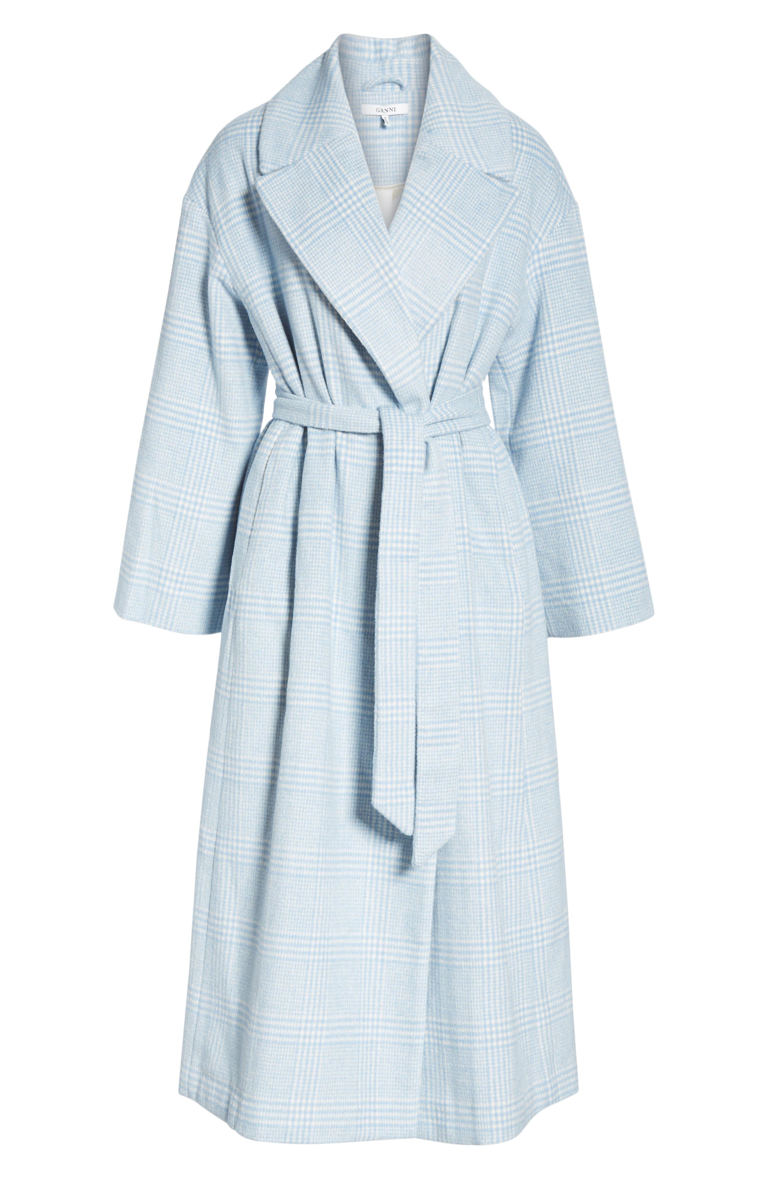 Woodside Coat,                             Alternate thumbnail 5, color,                             SERENITY BLUE
