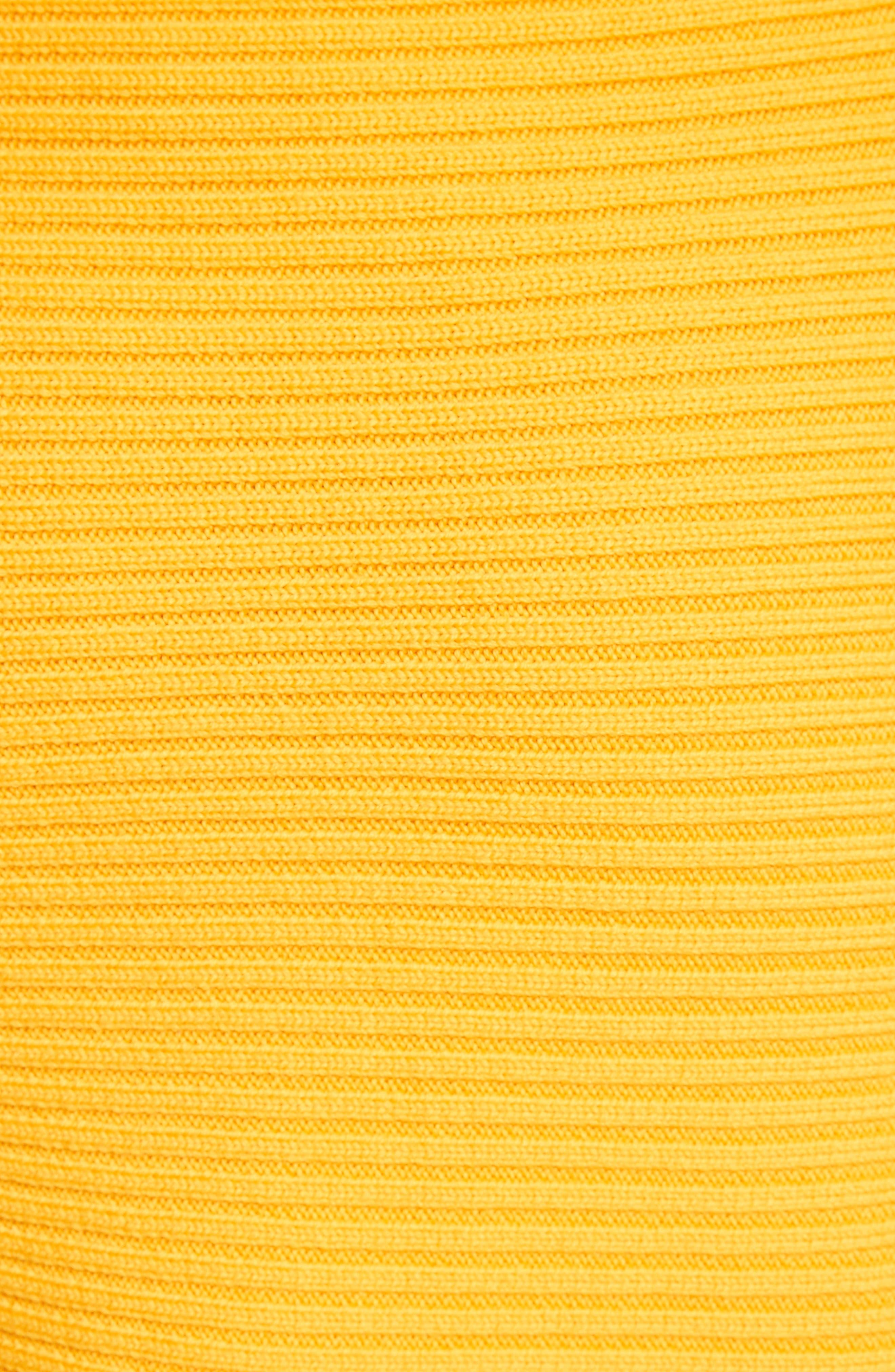 Asymmetrical Rib Merino Wool Skirt,                             Alternate thumbnail 10, color,