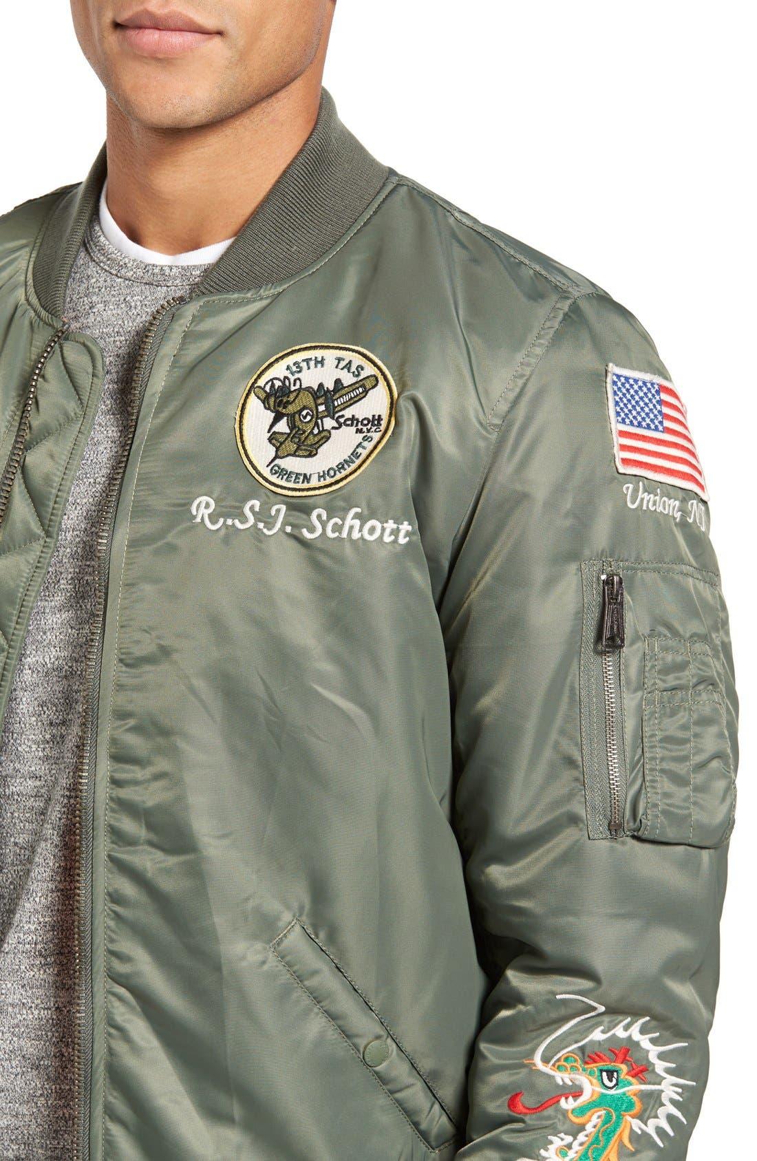 Souvenir MA-1 Flight Jacket,                             Alternate thumbnail 11, color,