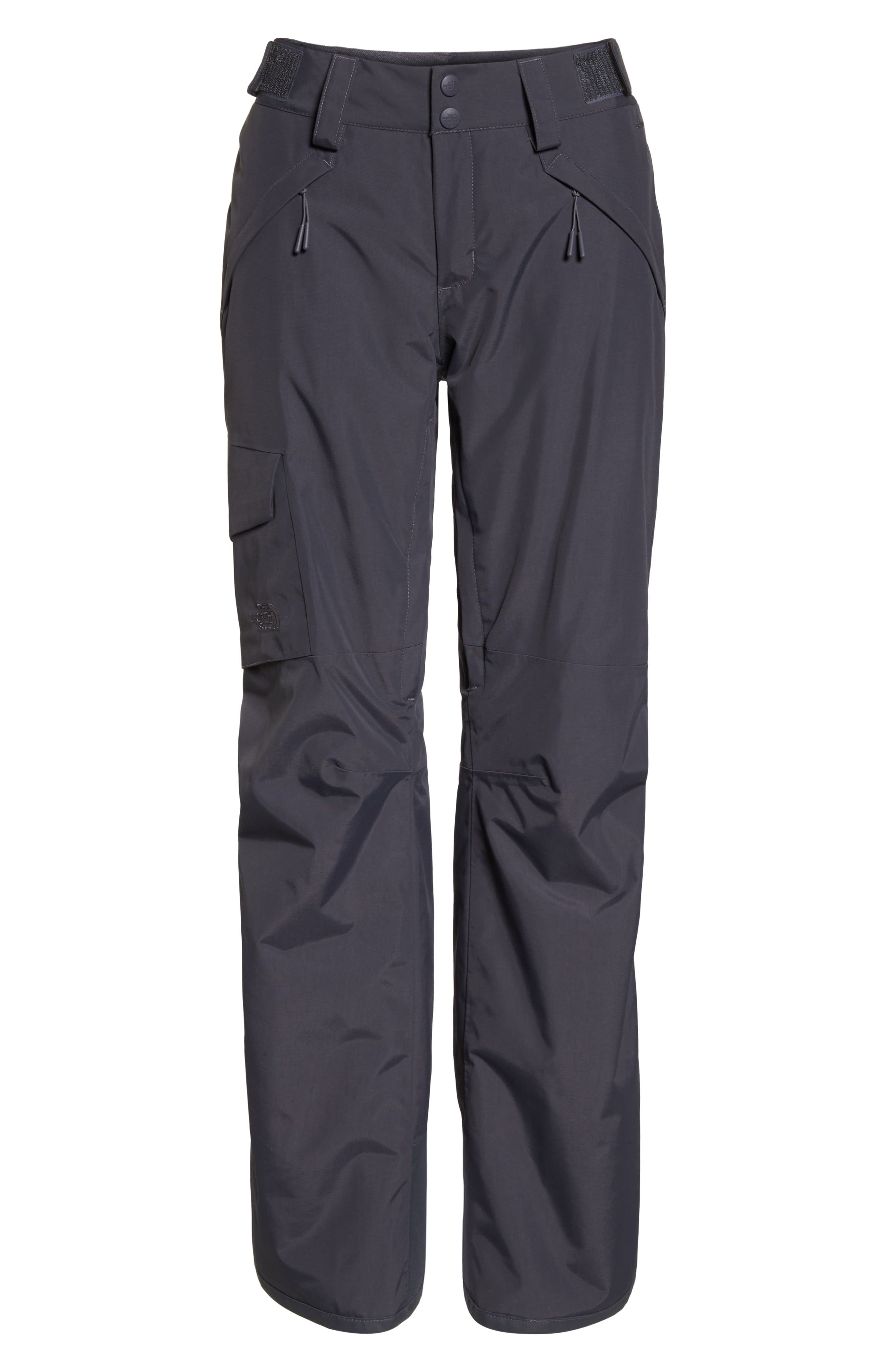 Freedom Waterproof Insulated Pants,                             Alternate thumbnail 7, color,                             PERISCOPE GREY
