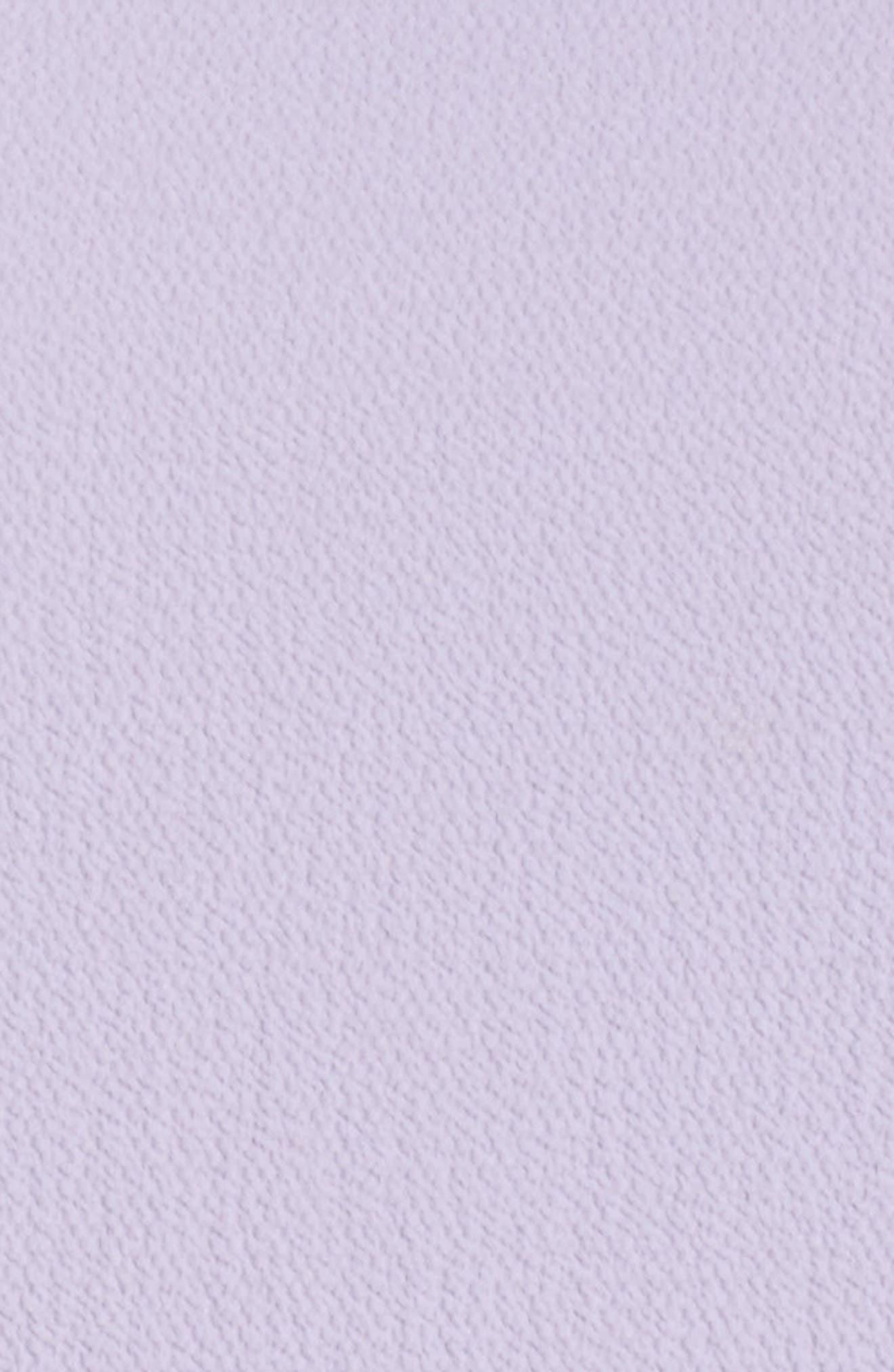 Cold Shoulder Flare Cuff Top,                             Alternate thumbnail 5, color,                             CROCUS PET