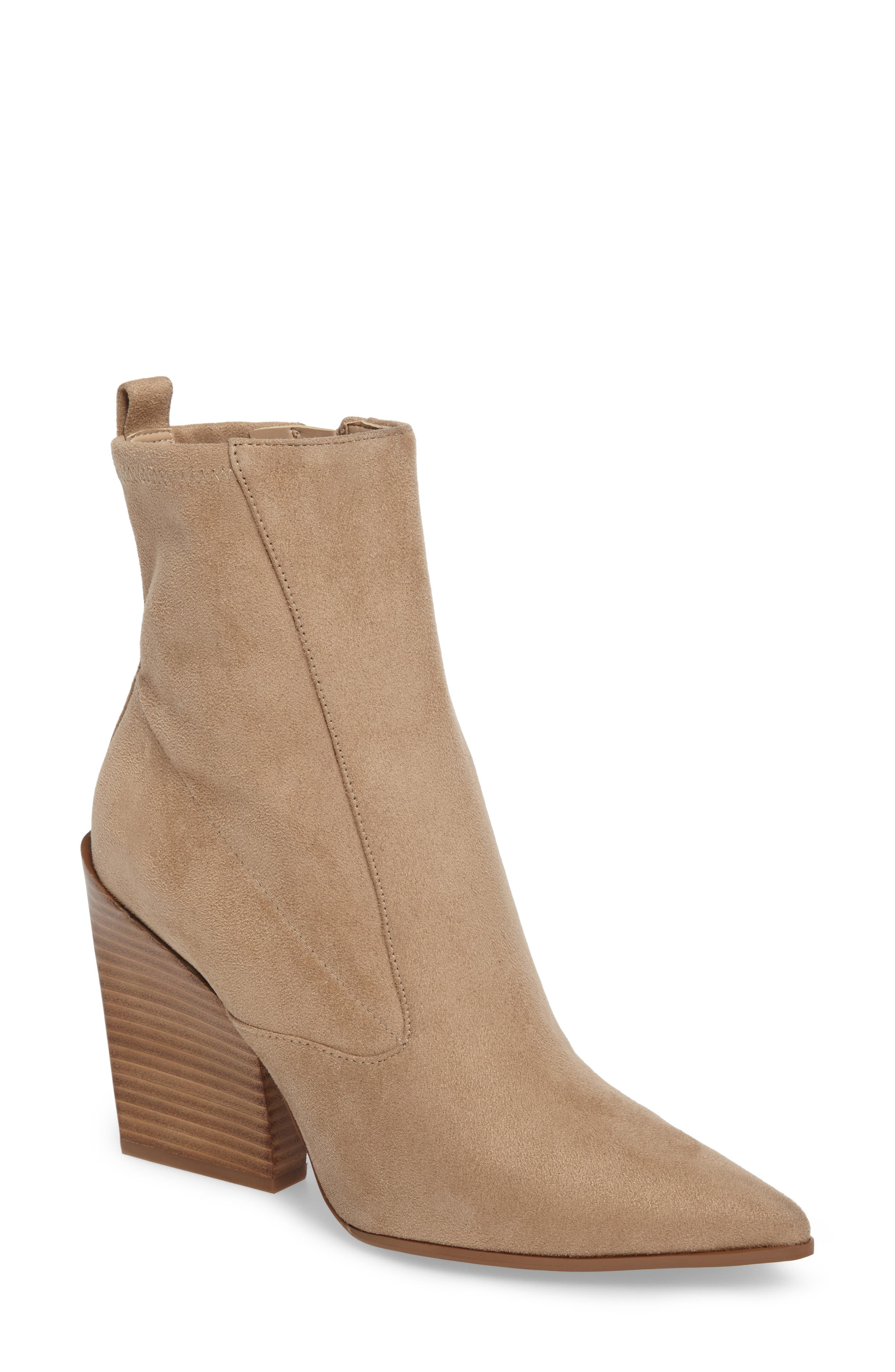 Fallyn Pointed Toe Bootie,                             Main thumbnail 2, color,