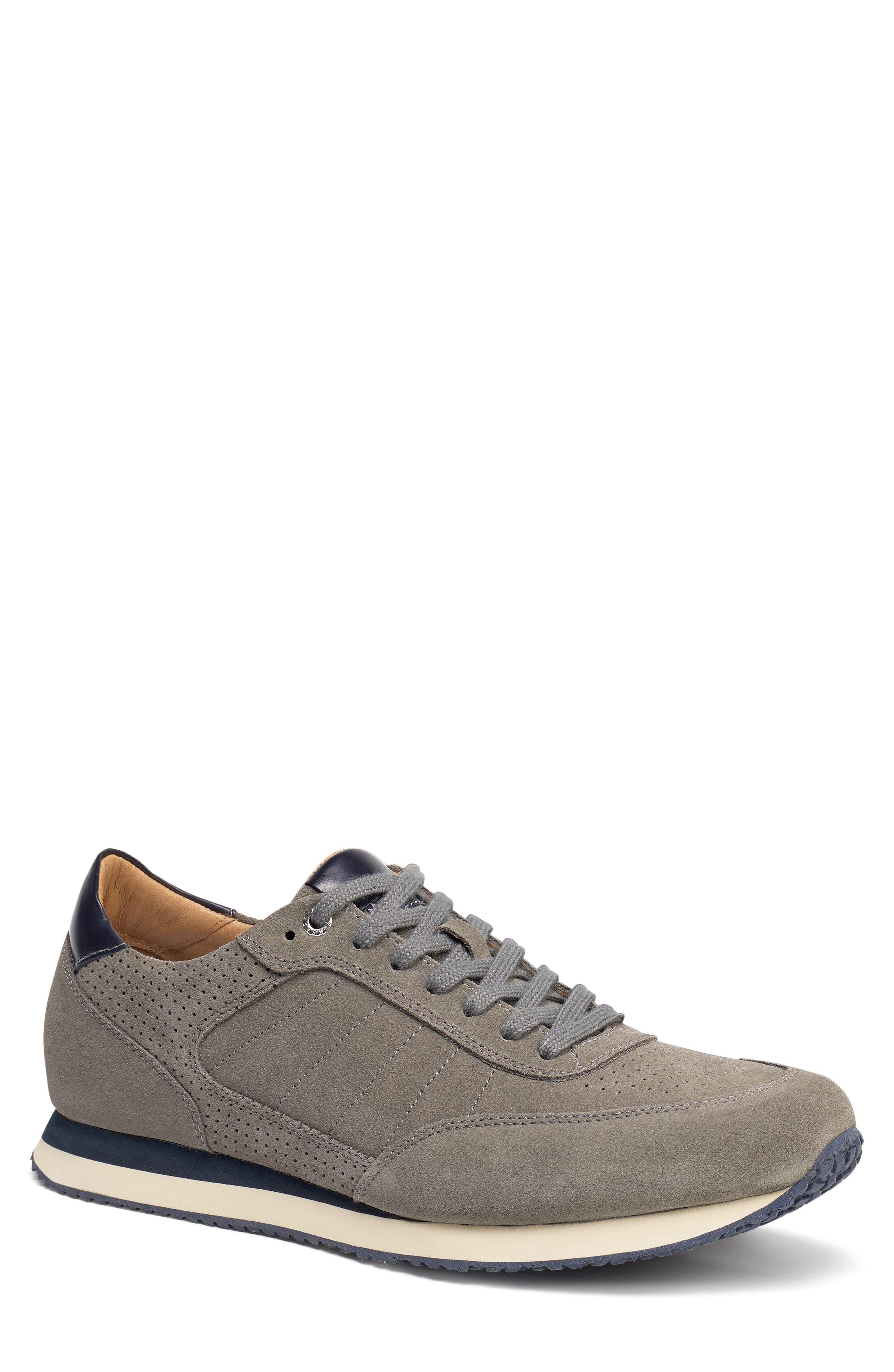 Aiden Sneaker,                         Main,                         color, GREY SUEDE