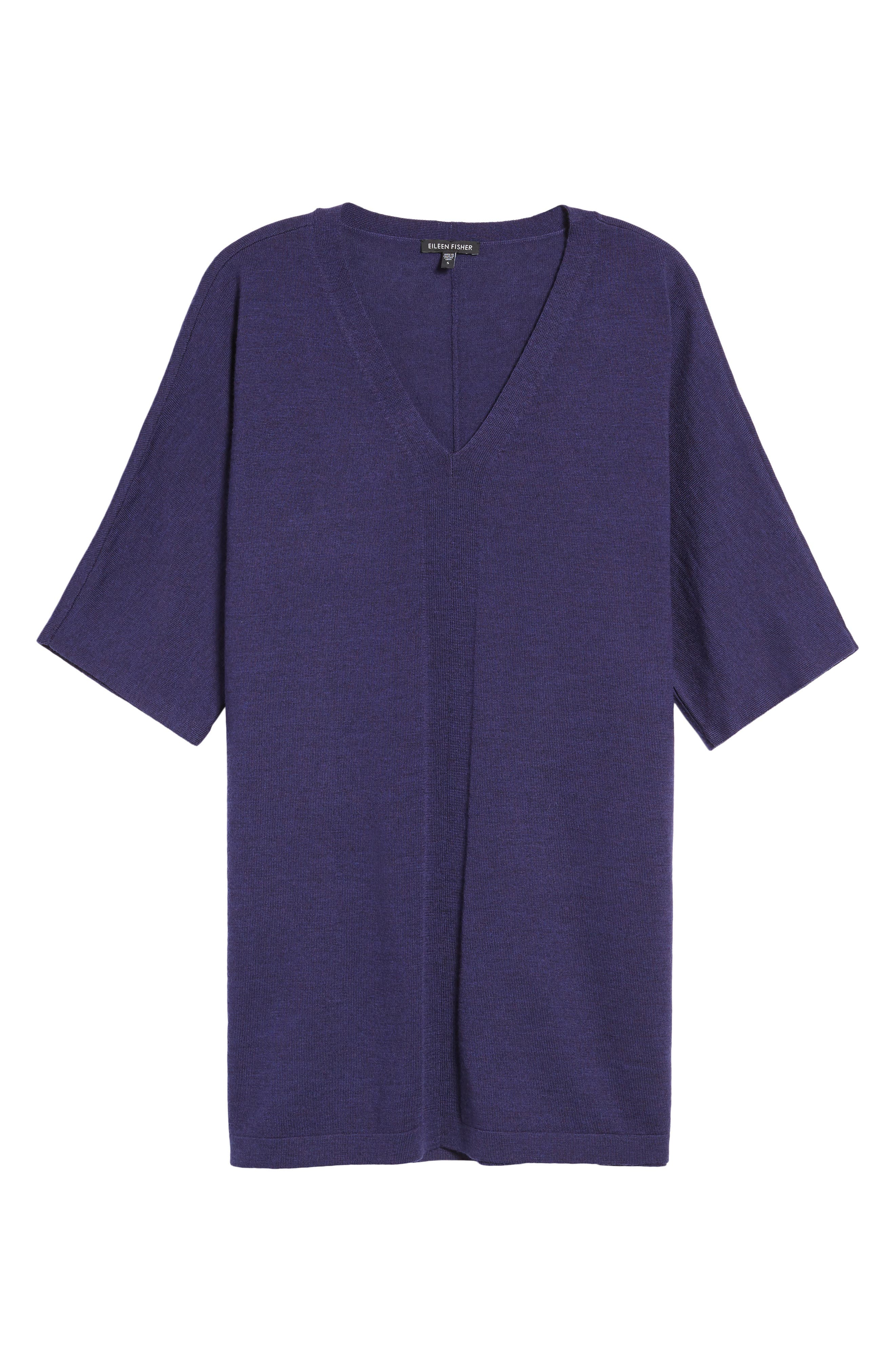 Merino Wool Tunic Sweater,                             Alternate thumbnail 38, color,