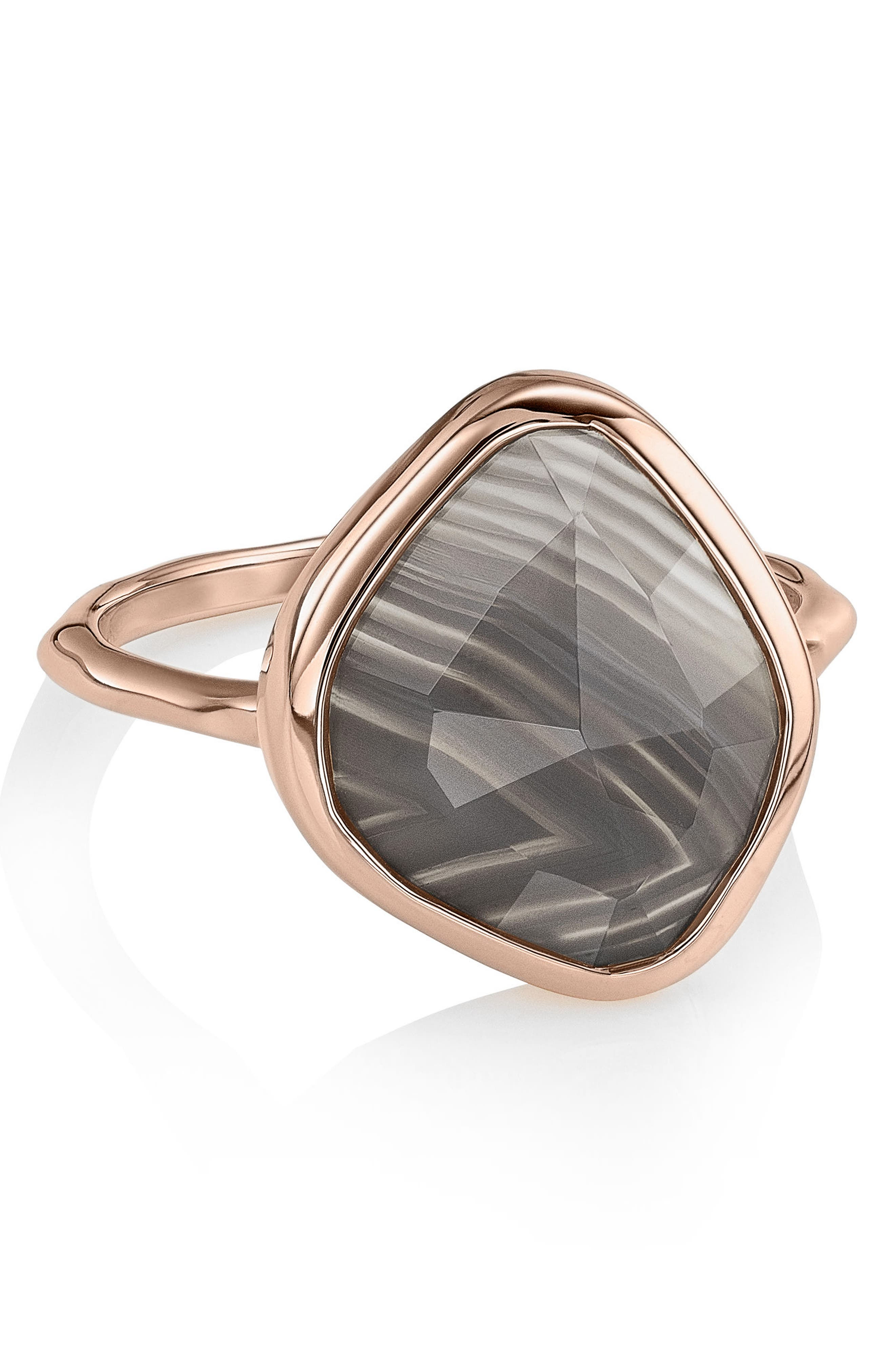 Siren Nugget Semiprecious Stone Ring,                         Main,                         color, 020