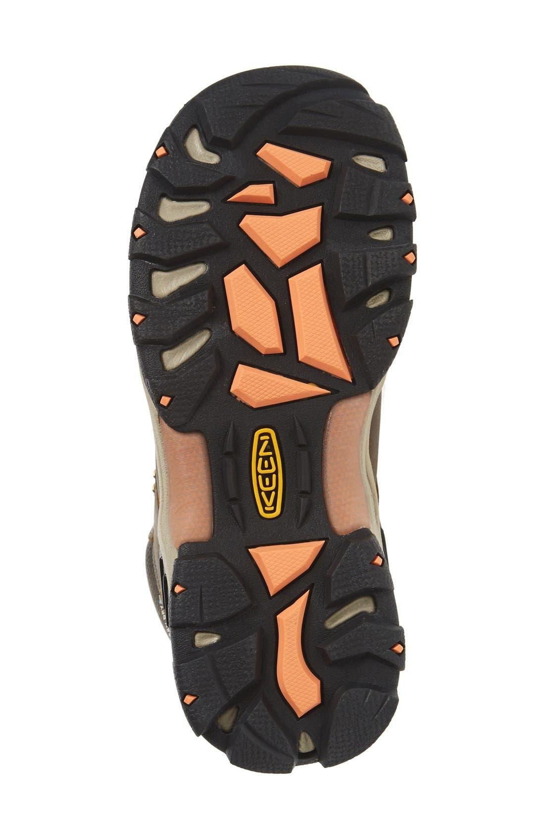 Gypsum II Mid Waterproof Hiking Boot,                             Alternate thumbnail 4, color,                             CORNSTOCK/ GOLD CORAL