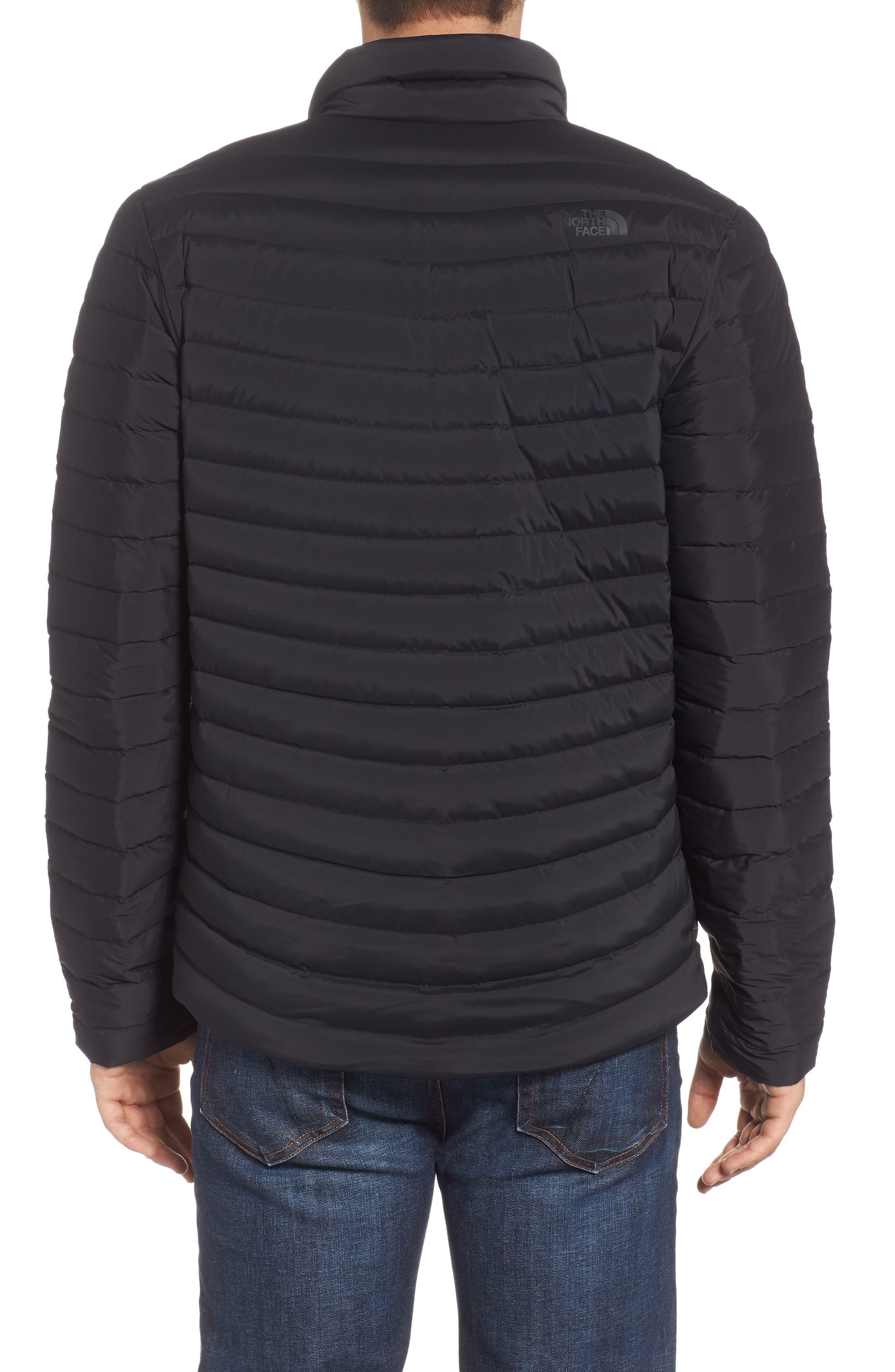 Packable Stretch Down Jacket,                             Alternate thumbnail 2, color,                             TNF BLACK/ TNF BLACK