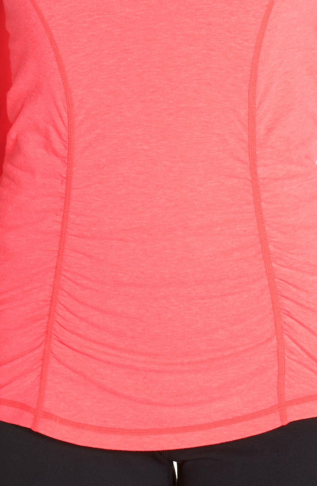 'Z 6' Ruched Tee,                             Alternate thumbnail 62, color,