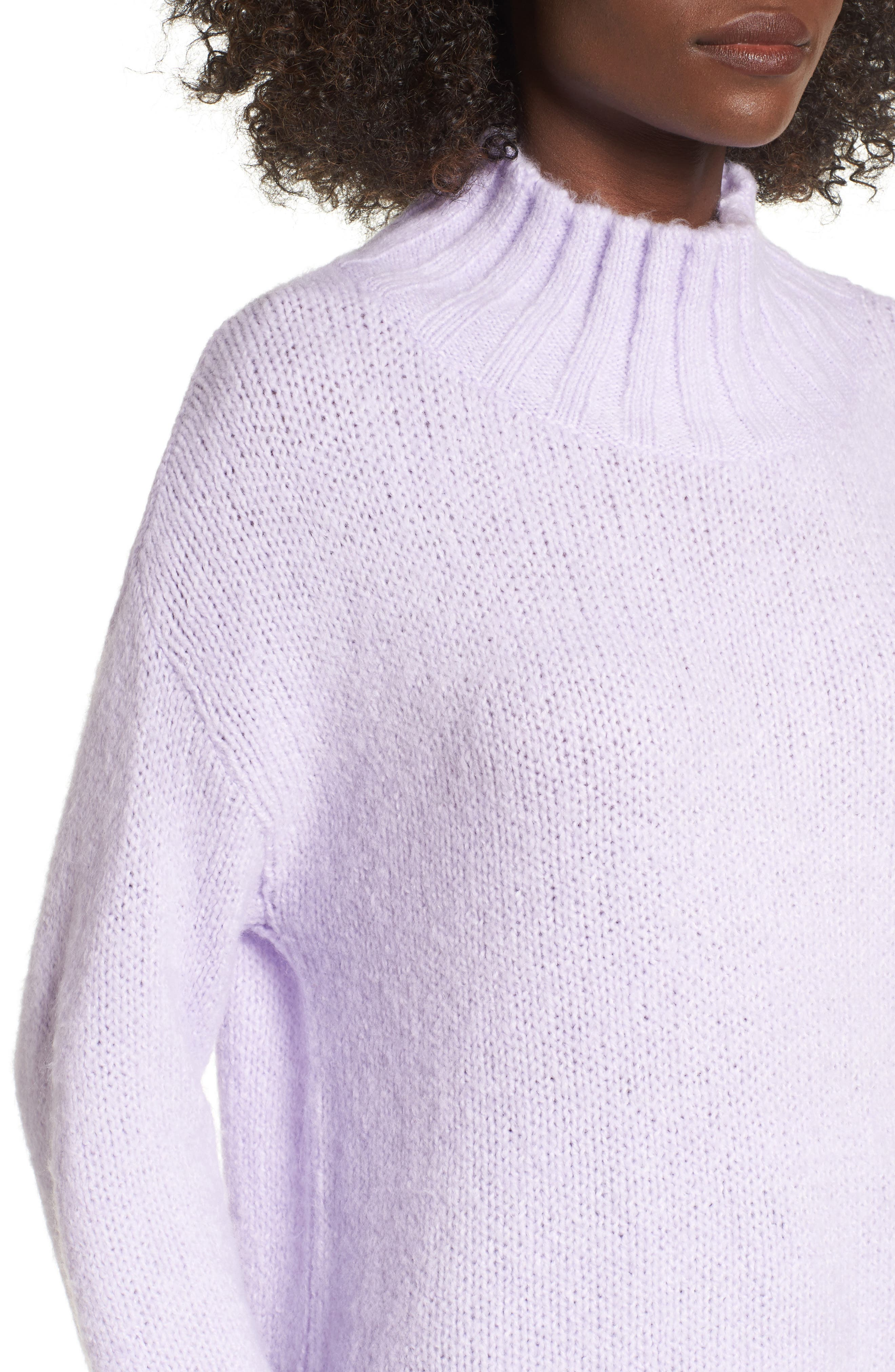 Cozy Mock Neck Sweater,                             Alternate thumbnail 23, color,