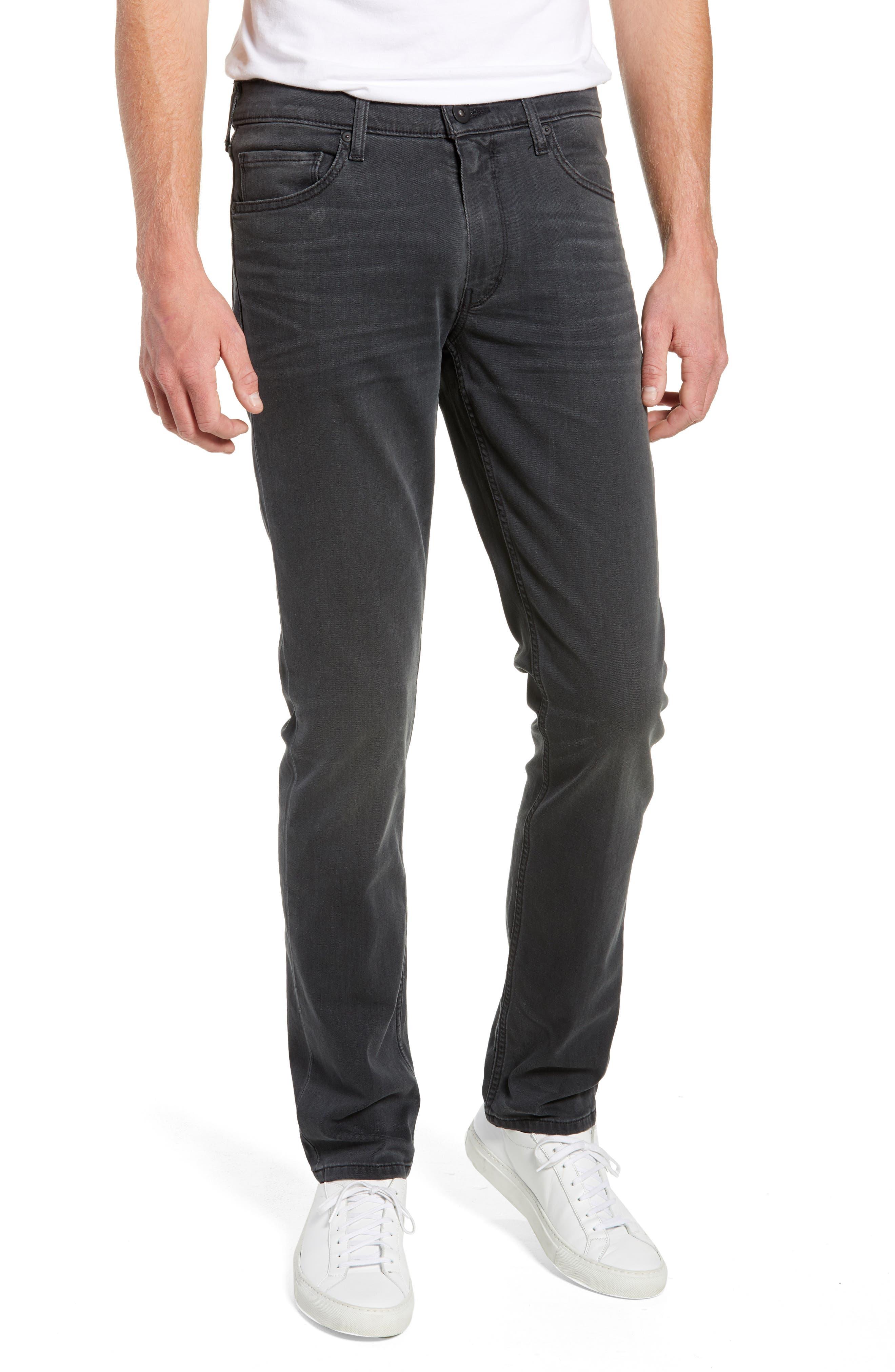 Transcend - Lennox Slim Fit Jeans,                             Main thumbnail 1, color,                             SHELDON