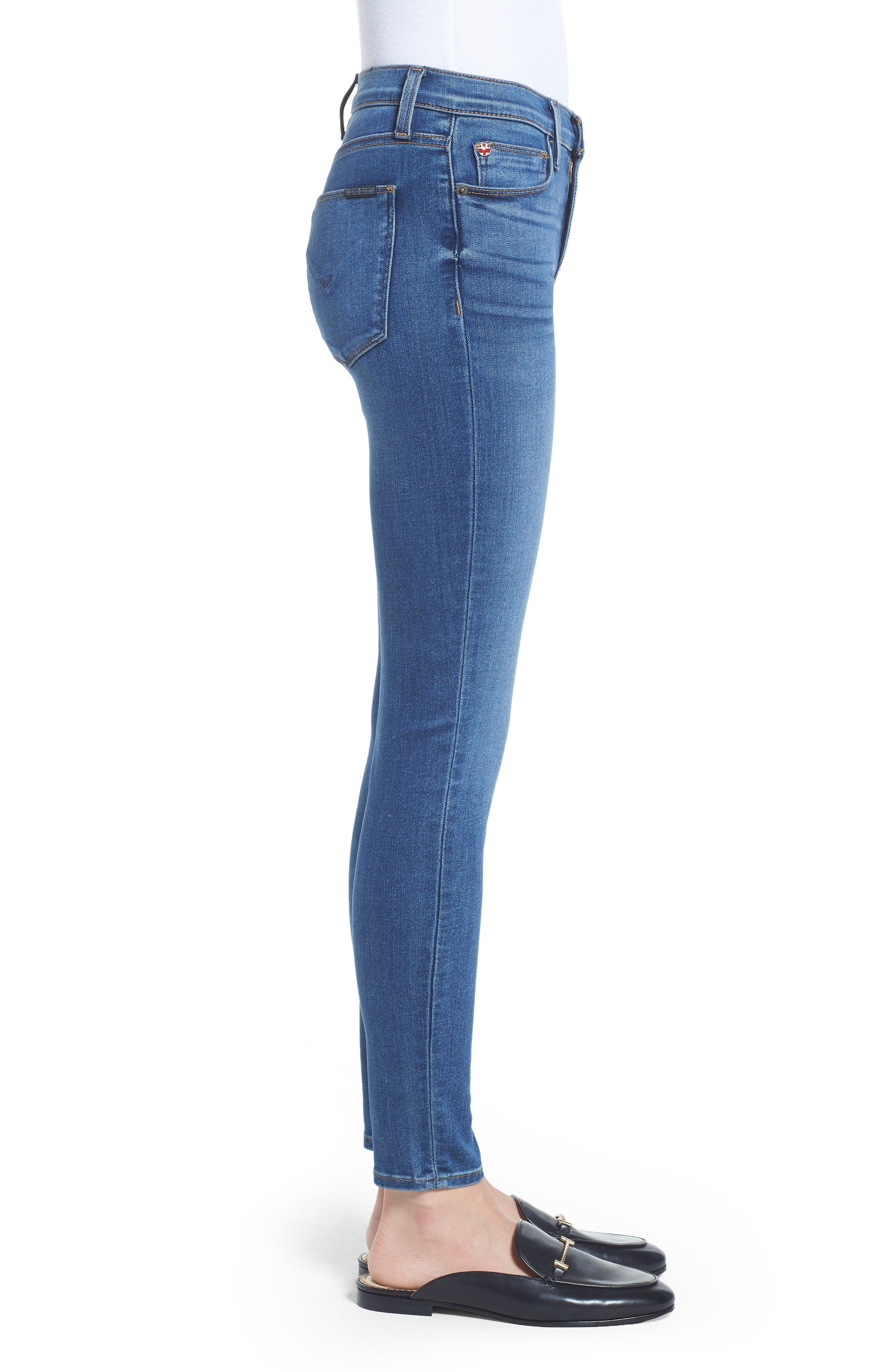 'Nico' Ankle Skinny Jeans,                             Alternate thumbnail 22, color,