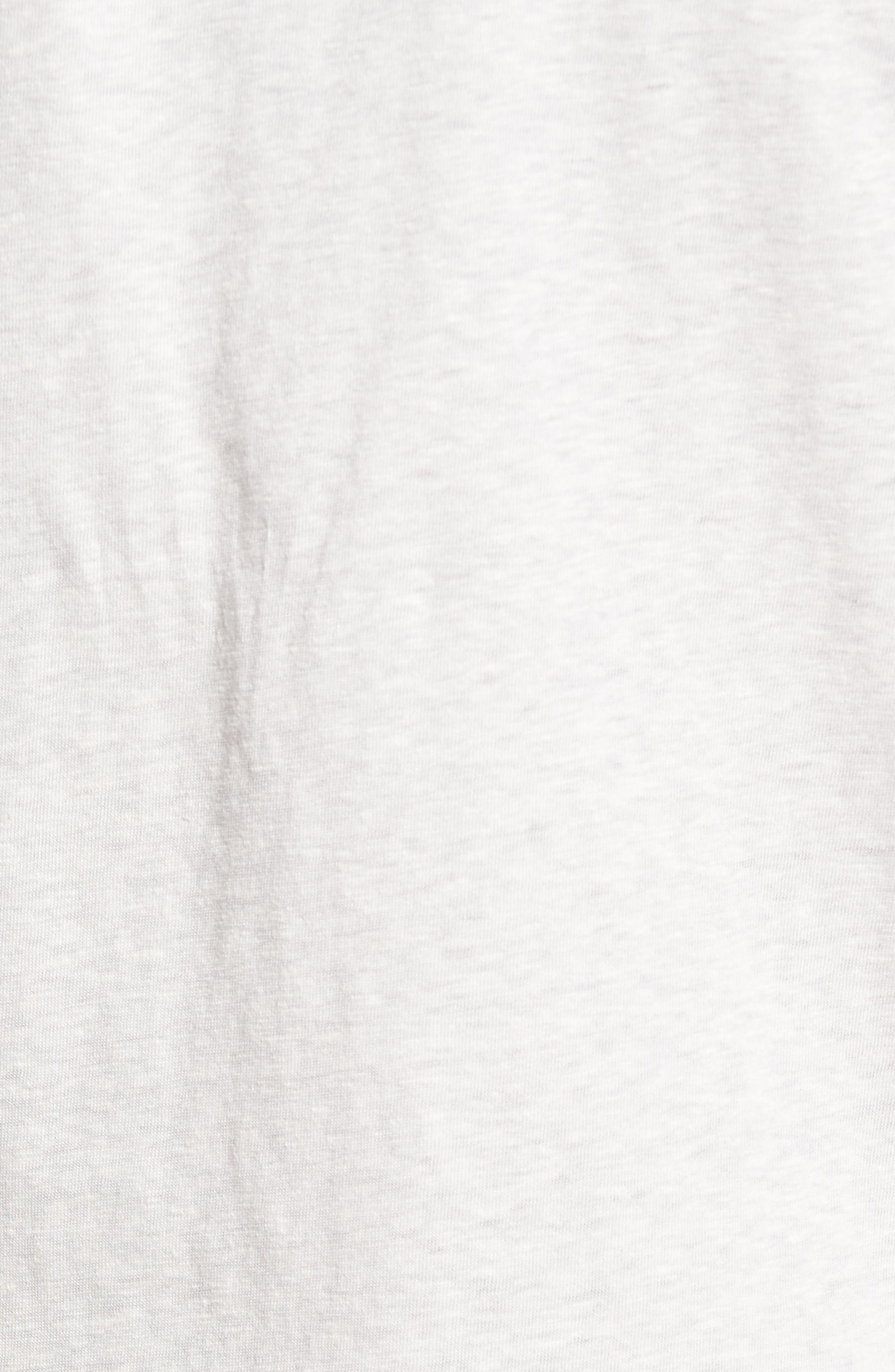 Recycled Cotton Blend T-Shirt,                             Alternate thumbnail 5, color,                             020