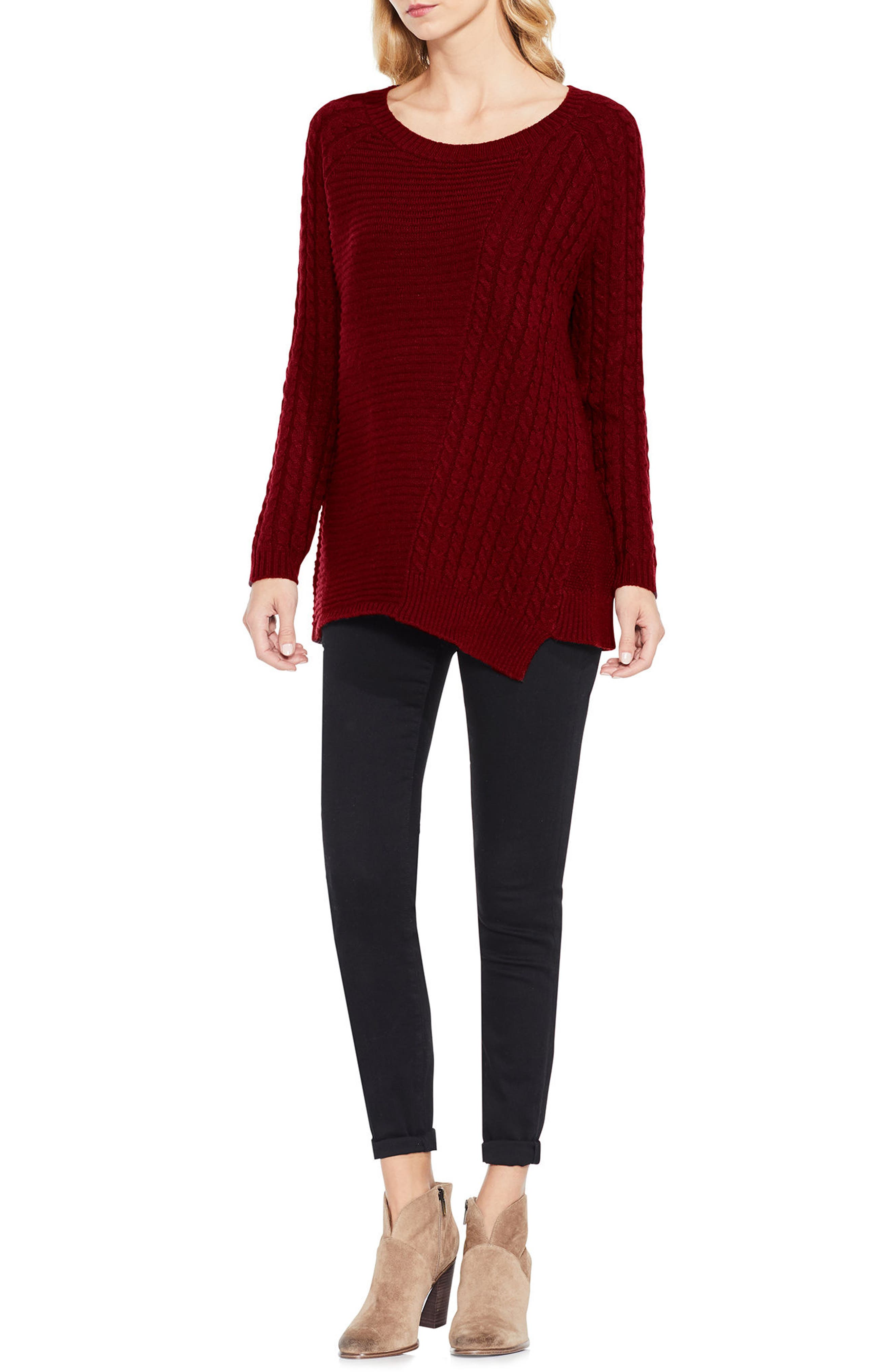 Mixed Stitch Sweater,                             Alternate thumbnail 14, color,