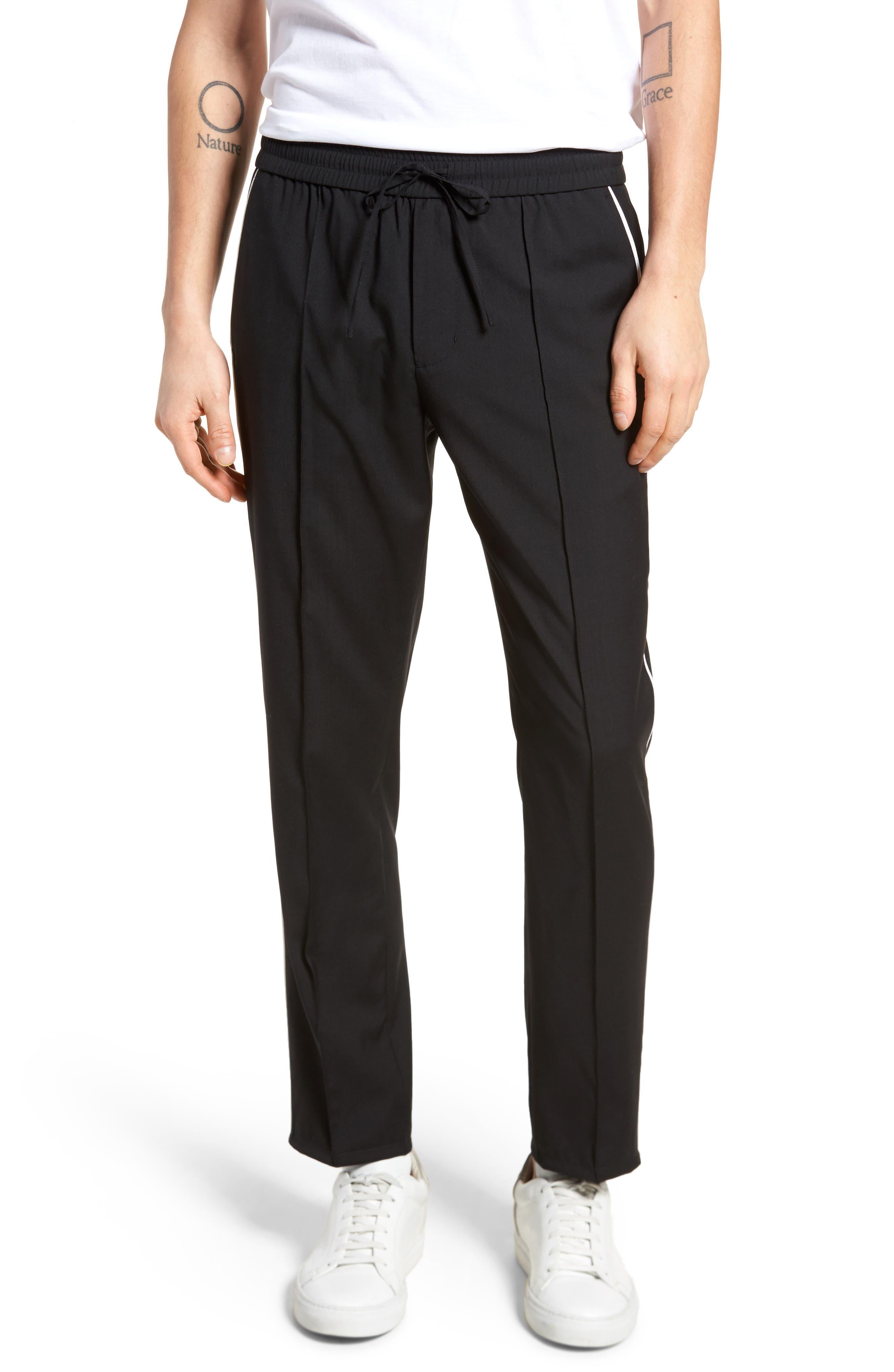 Regular Fit Track Pants,                         Main,                         color, 001