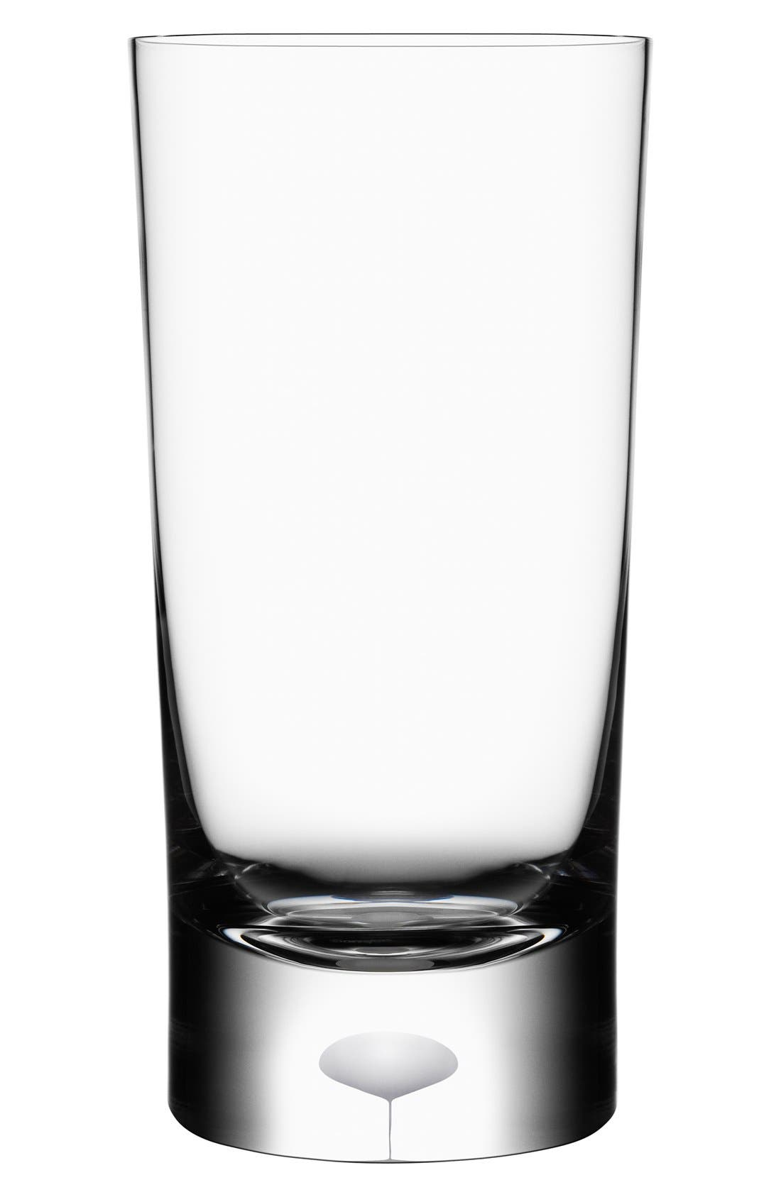 'Intermezzo' Crystal Tumbler,                         Main,                         color, 100