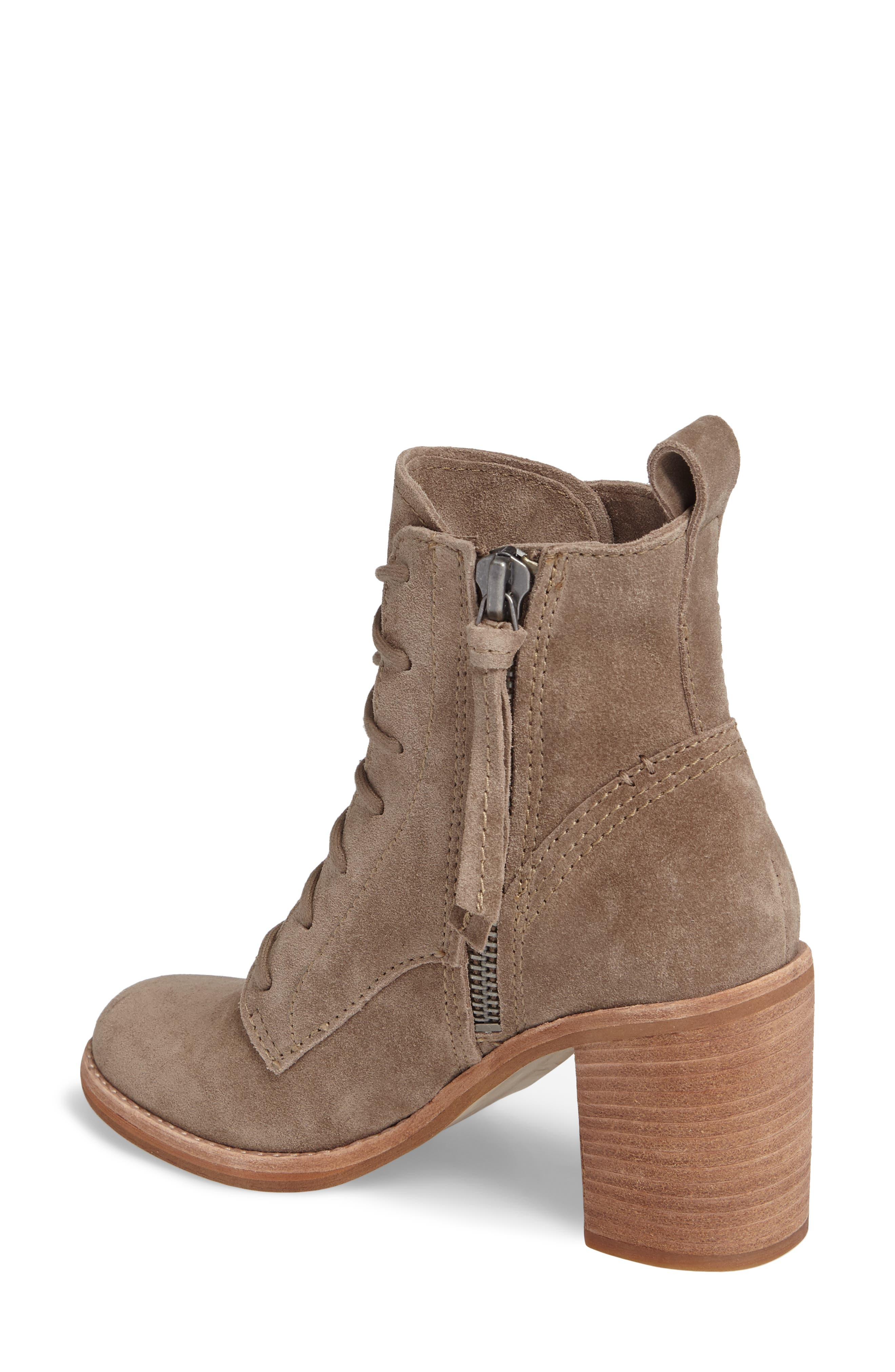 Rowly Lace-Up Bootie,                             Alternate thumbnail 4, color,