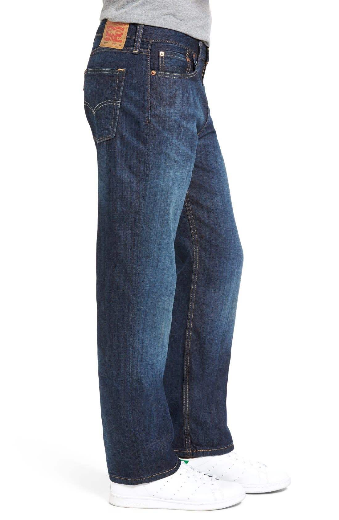 514<sup>™</sup> Straight Leg Jeans,                             Alternate thumbnail 6, color,                             SHOESTRING