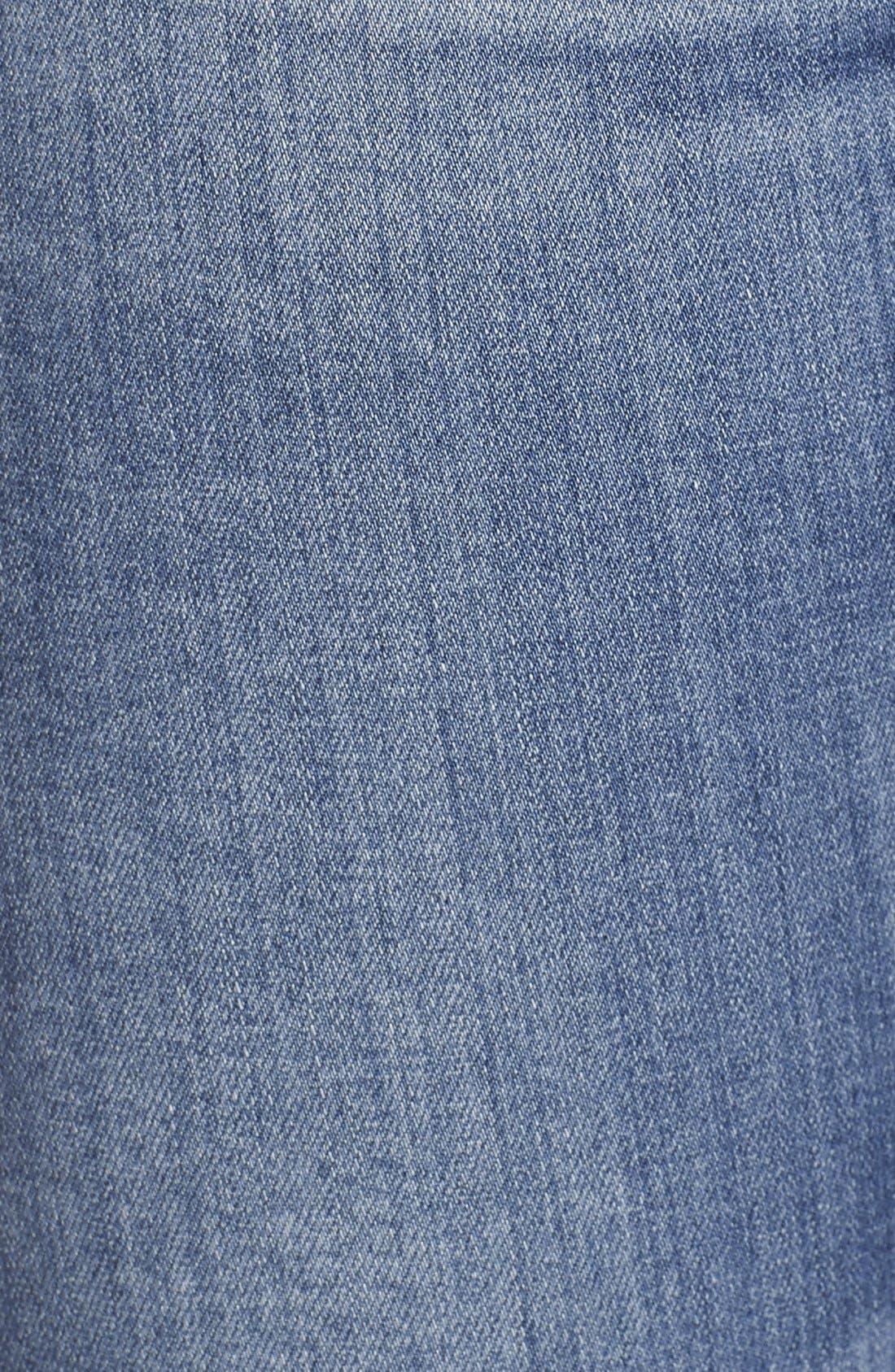 AG,                             'The Farrah' High Rise Crop Skinny Jeans,                             Alternate thumbnail 3, color,                             400