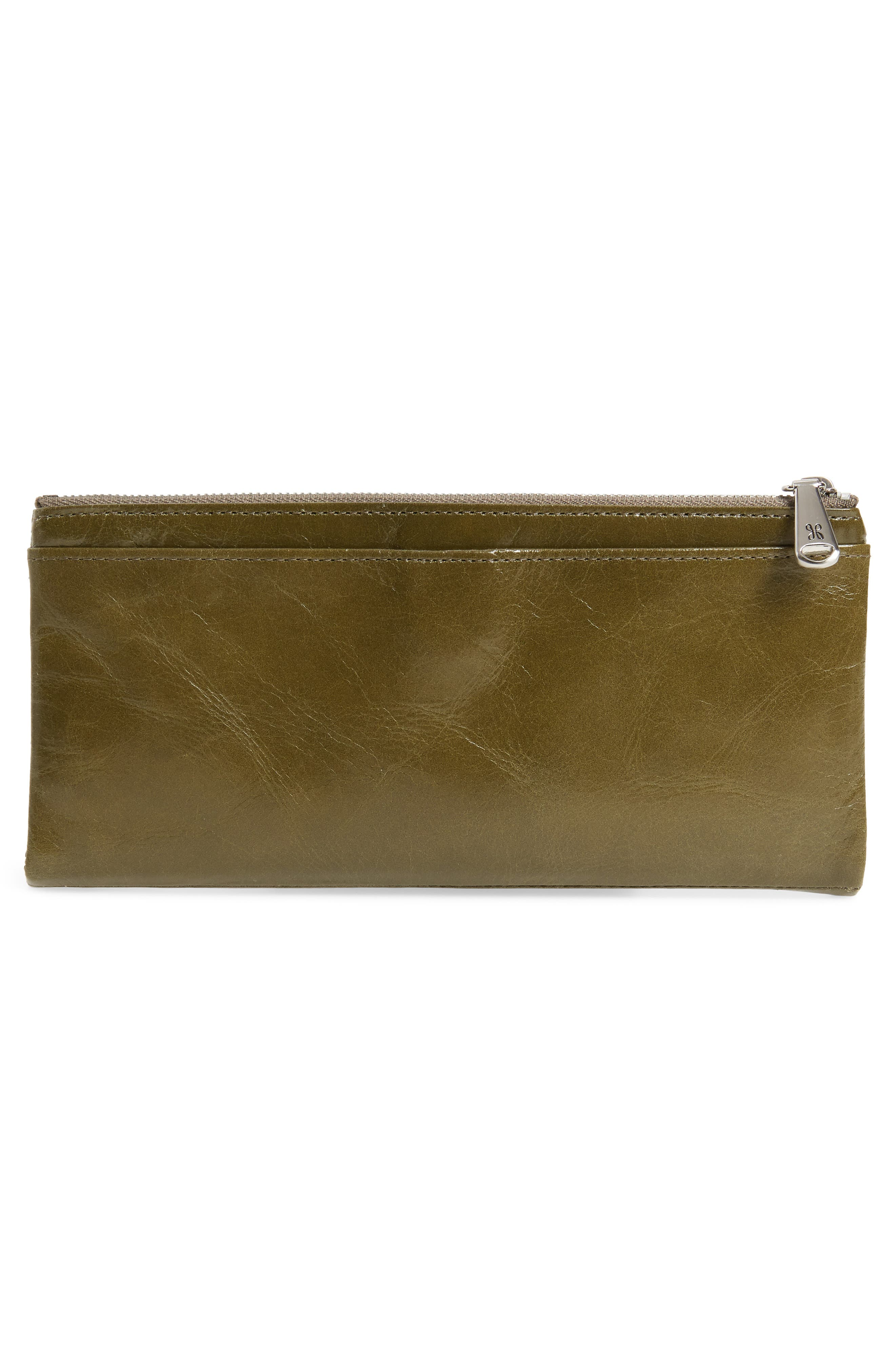 Taylor Glazed Wallet,                             Alternate thumbnail 3, color,                             WILLOW
